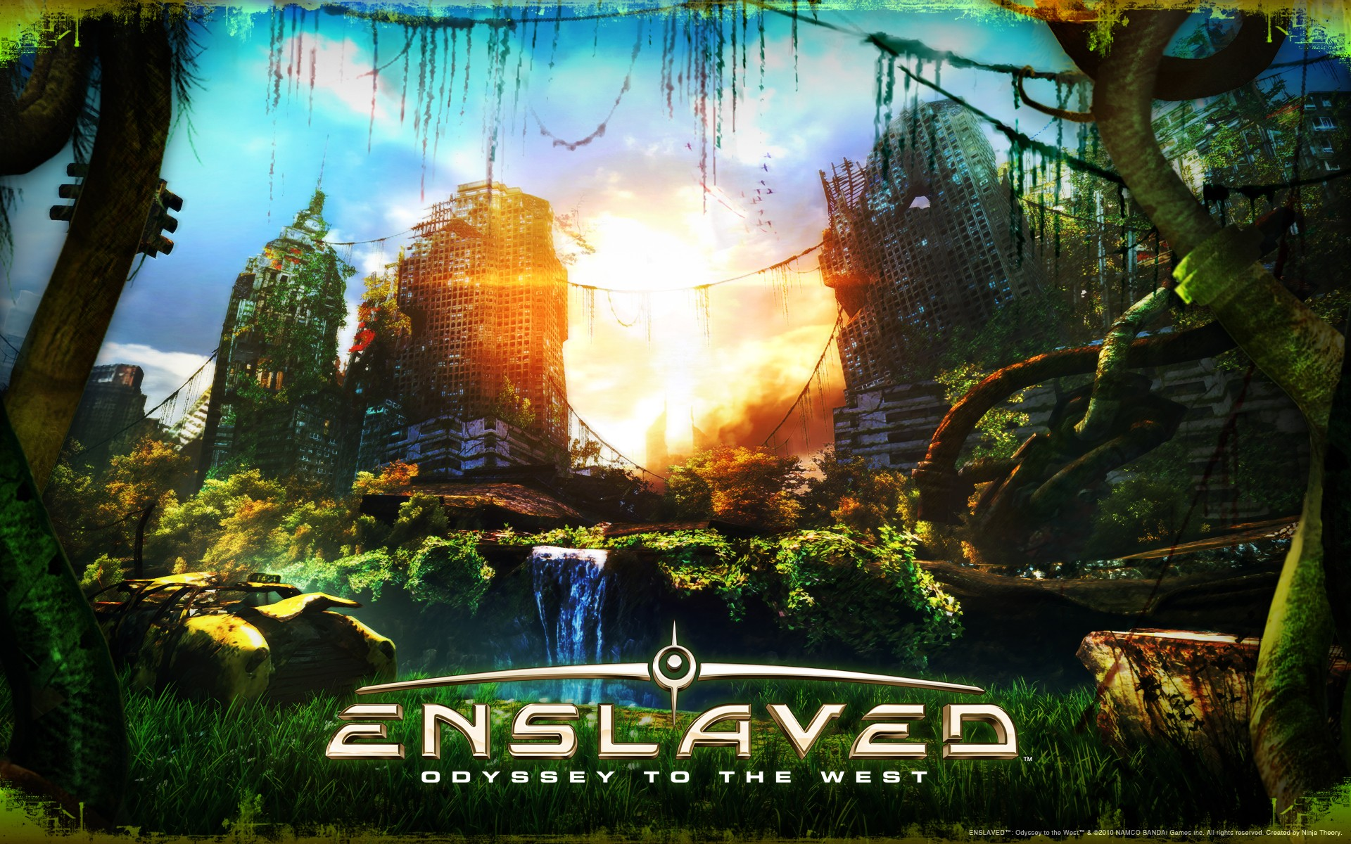 Арт к игре Enslaved: Odyssey to the West