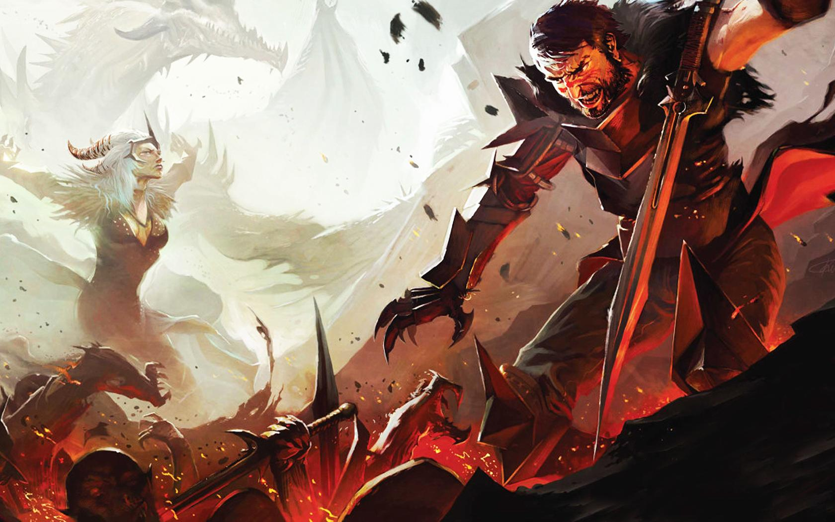 Арт к игре Dragon Age 2