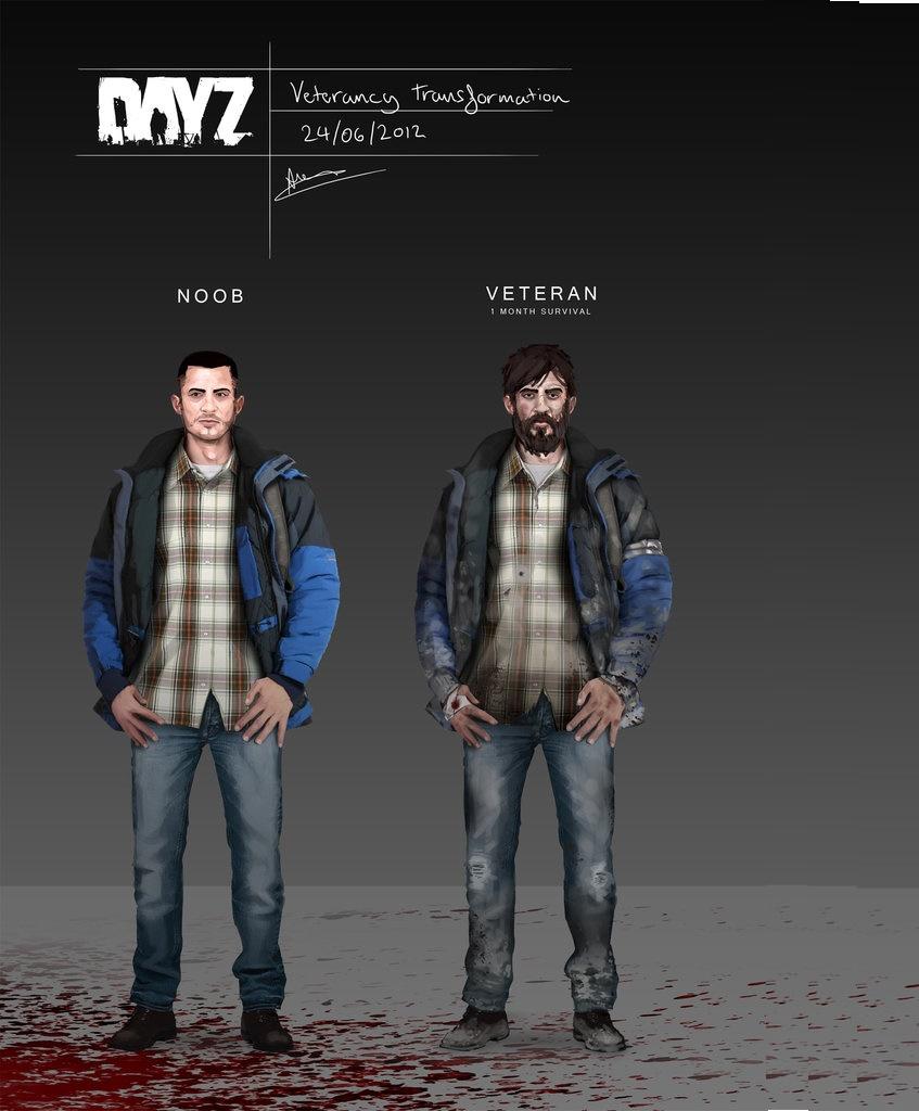Арт к игре DayZ