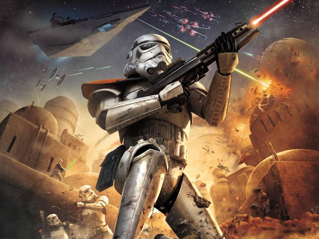 Арт к игре Star Wars: Battlefront 2