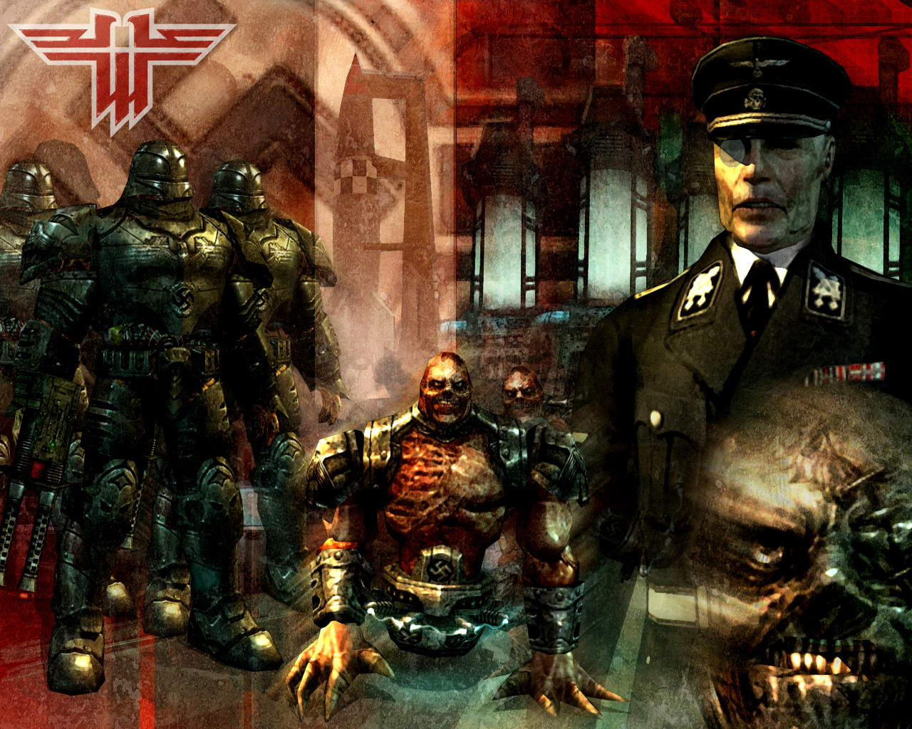 Арт к игре Return to Castle Wolfenstein