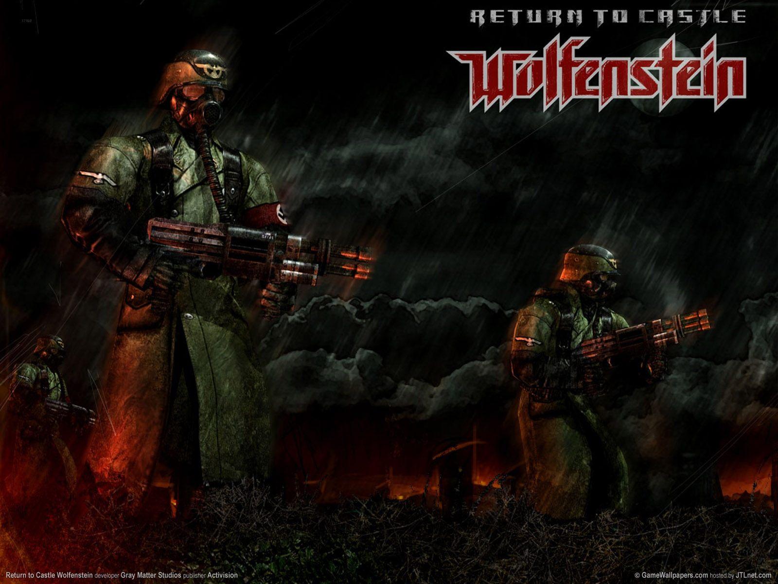 Арт к игре Return to Castle Wolfenstein