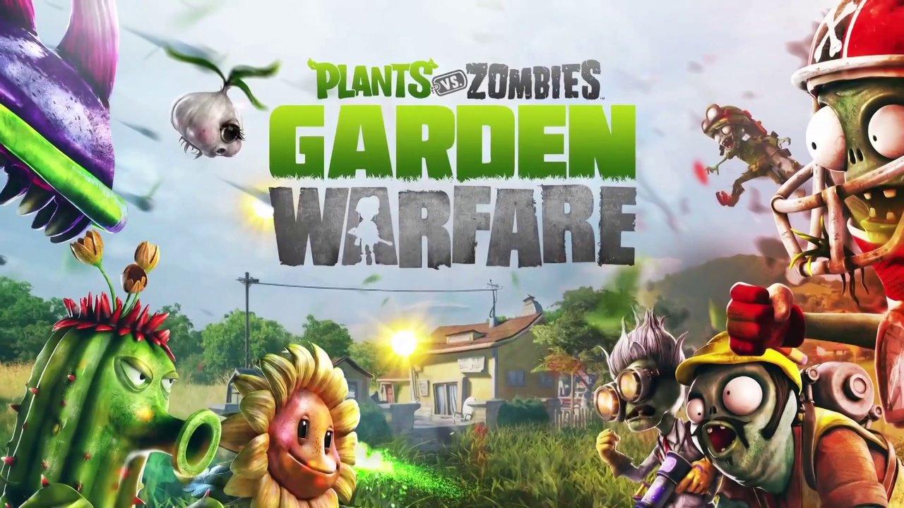 Арт к игре Plants vs Zombies: Garden Warfare
