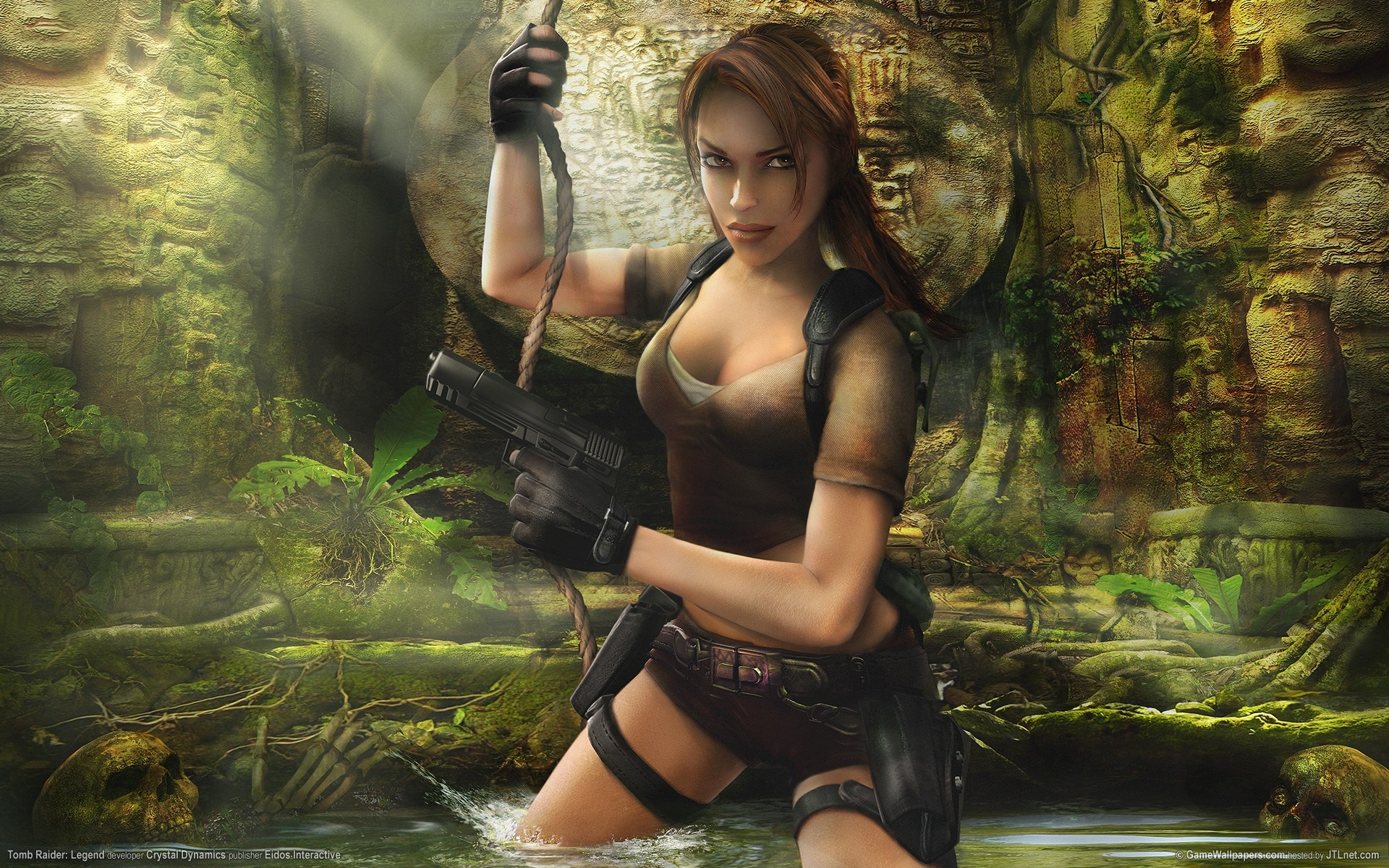 Арт к игре Tomb Raider: Legend
