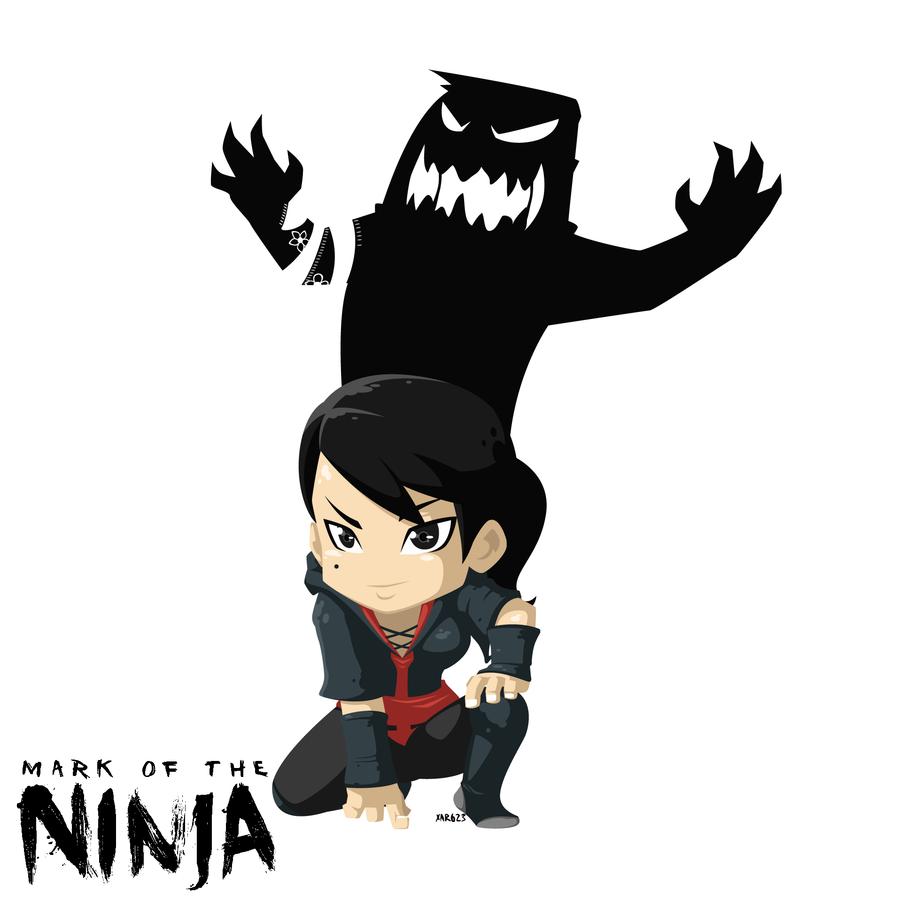 Арт к игре Mark of the Ninja