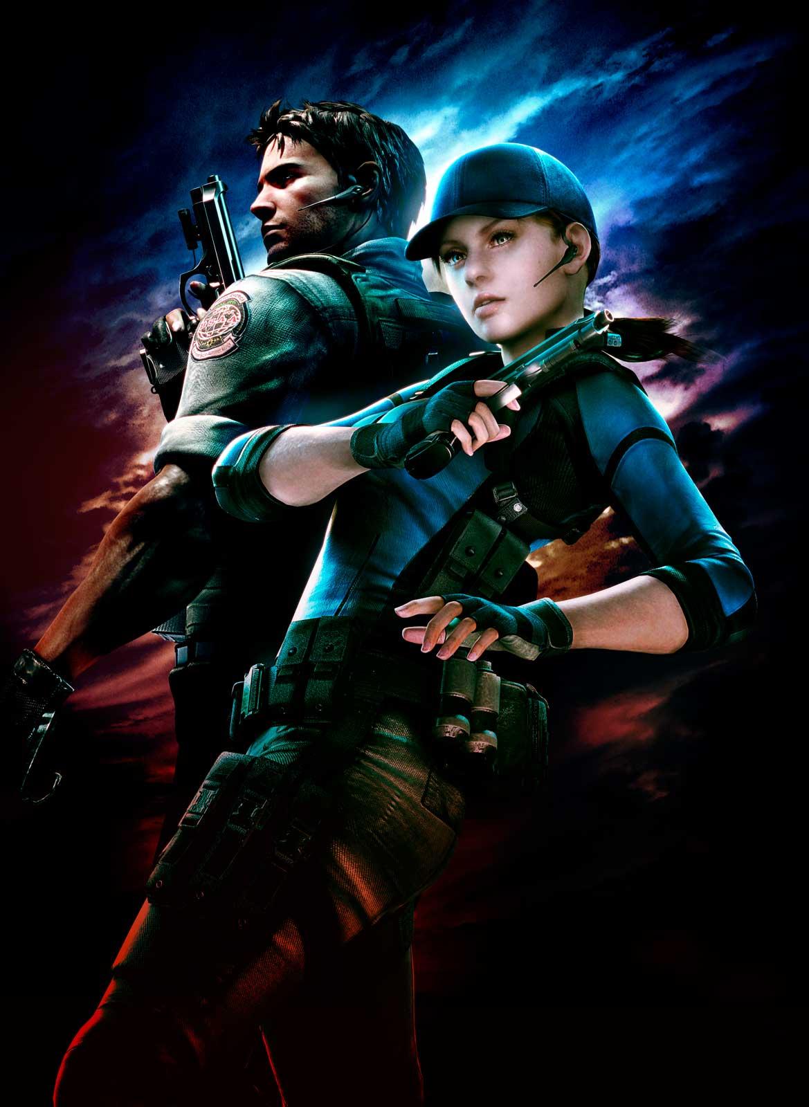 Арт к игре Resident Evil 5
