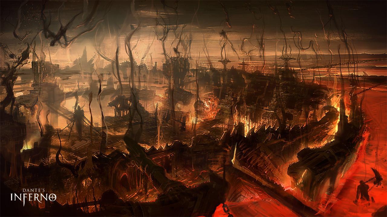 Арт к игре Dante's Inferno