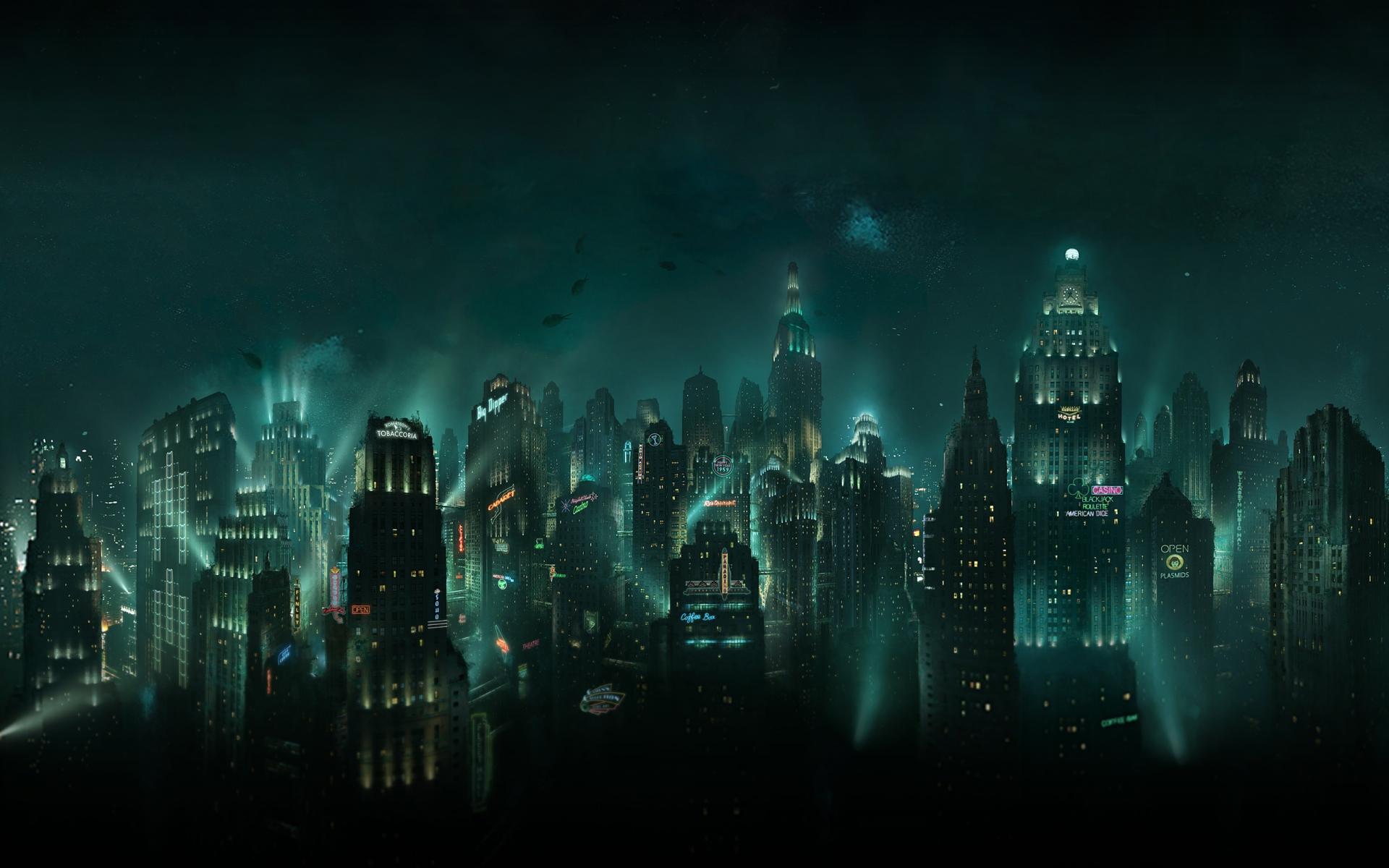Арт к игре BioShock