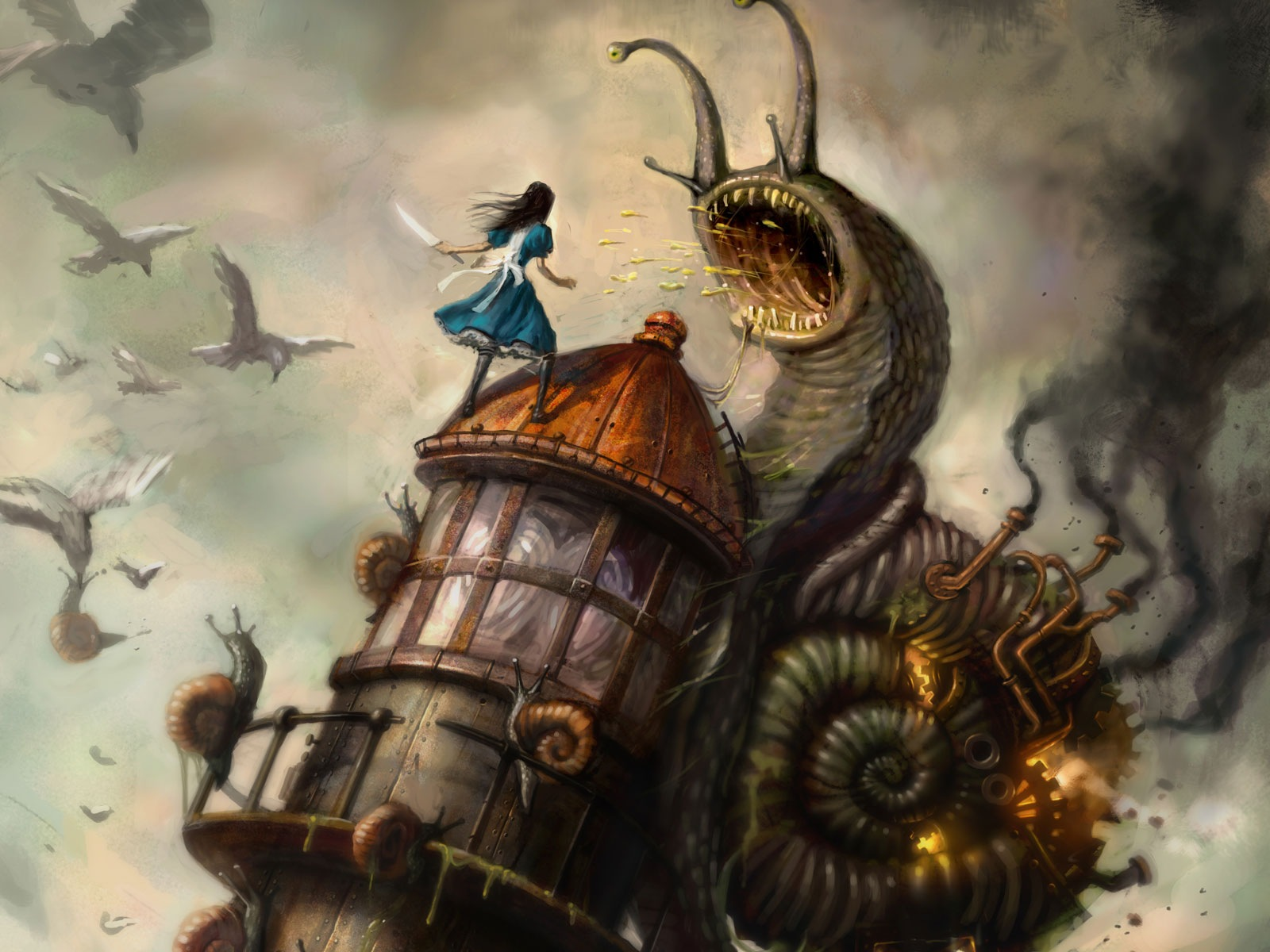 Арт к игре Alice: Madness Returns