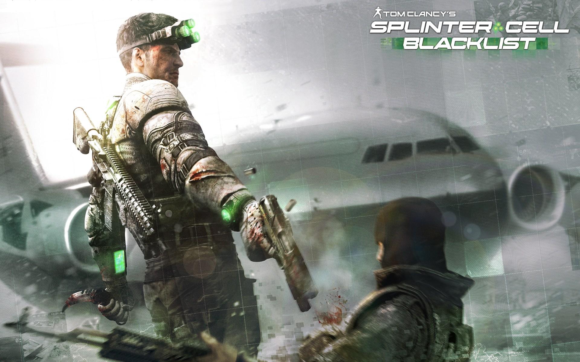 Арт к игре Tom Clancy's Splinter Cell: Blacklist