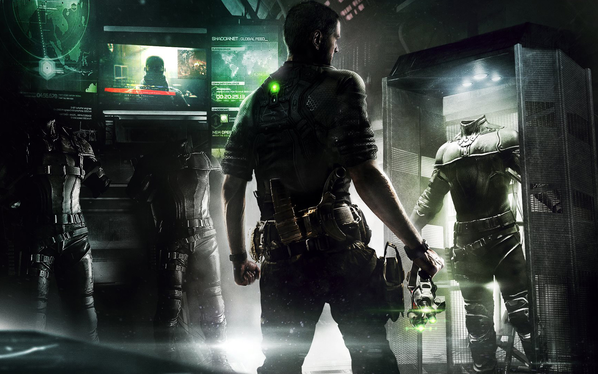 Арт к игре Tom Clancy's Splinter Cell: Blacklist