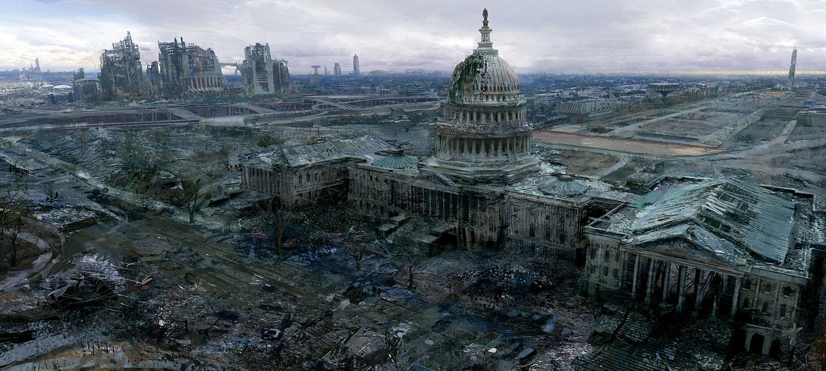 Арт к игре Fallout 3