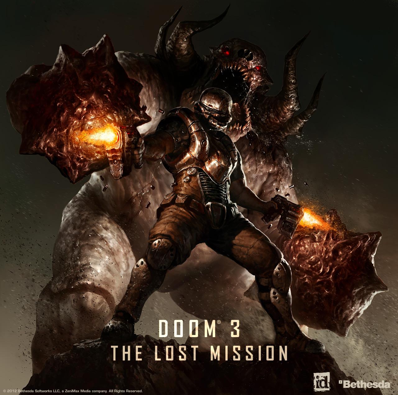 Арт к игре Doom 3: BFG Edition