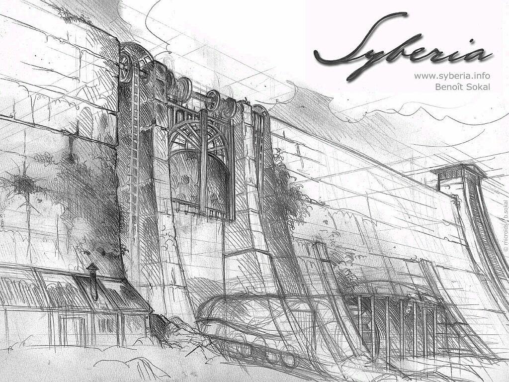 Арт к игре Syberia