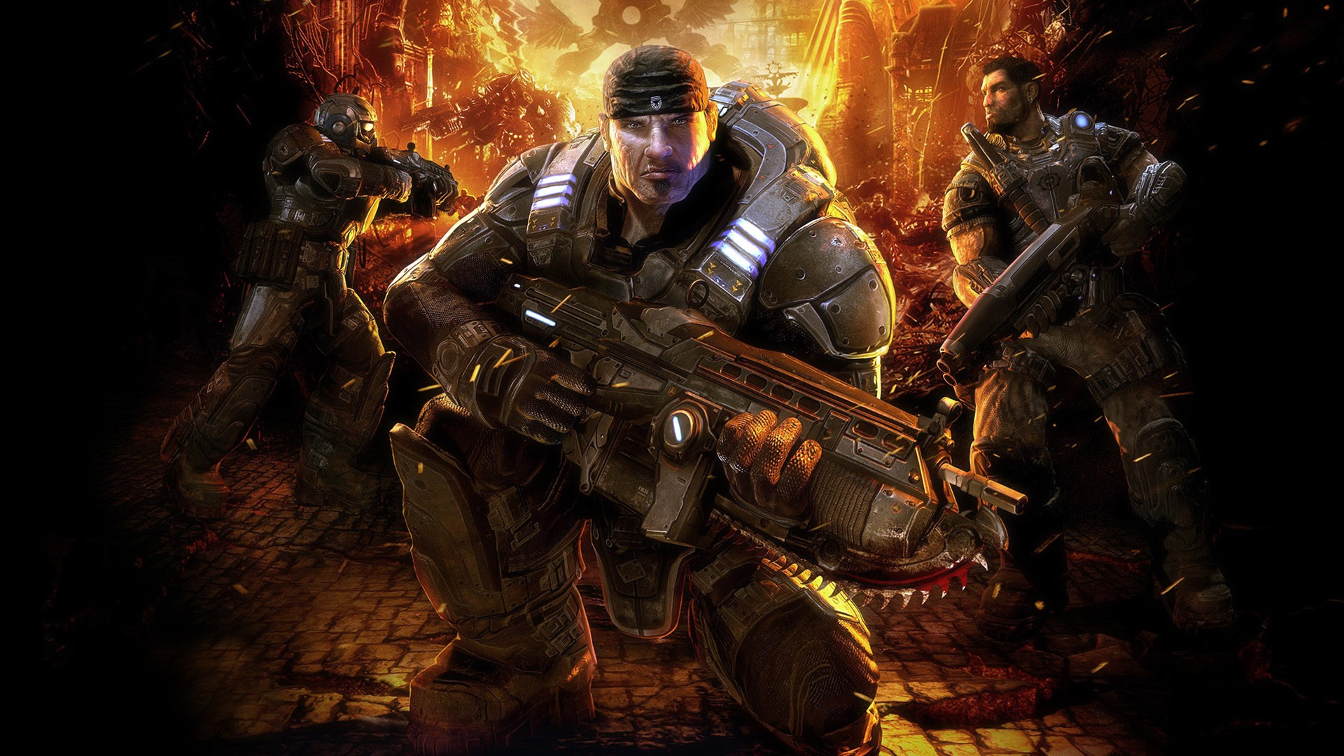 Арт к игре Gears of War