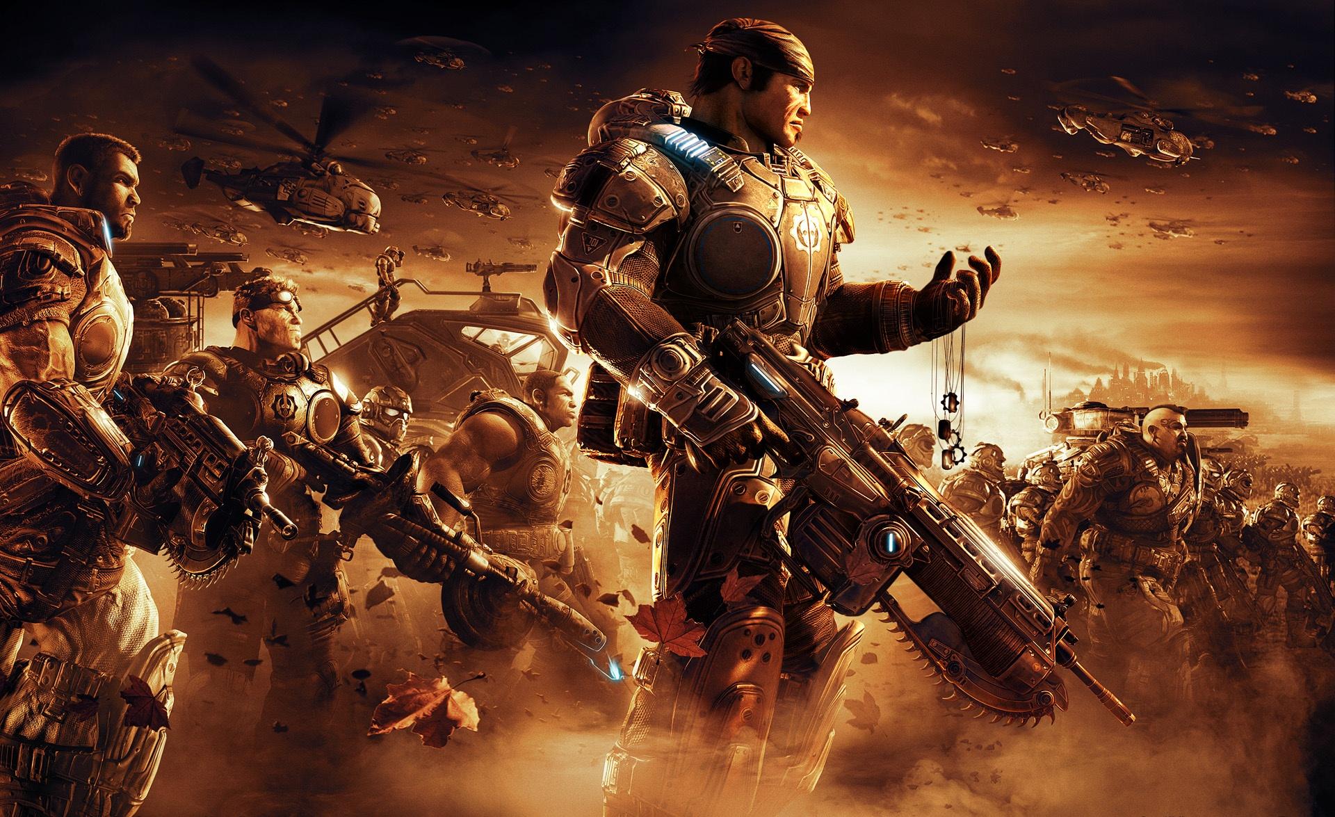 Арт к игре Gears of War