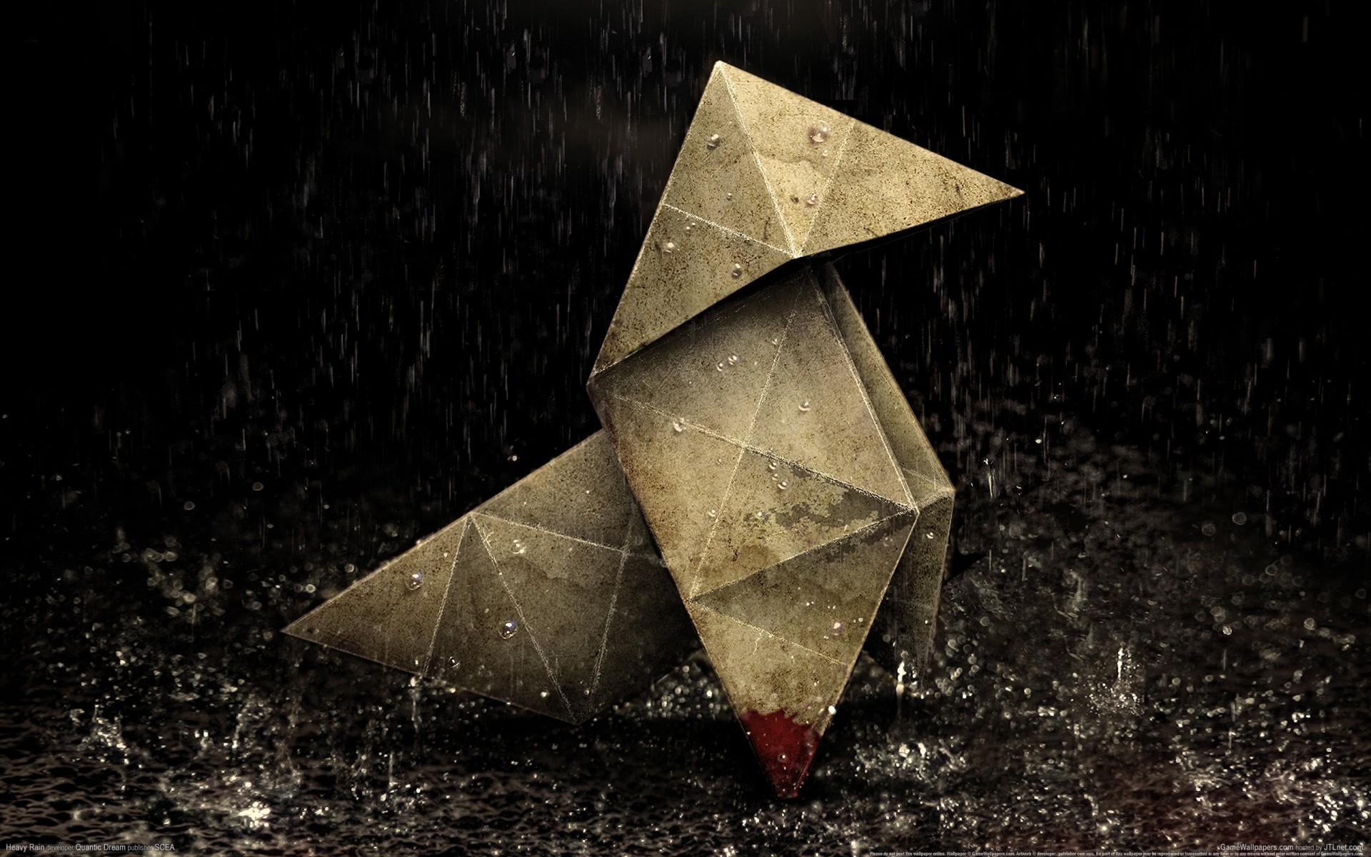 Арт к игре Heavy Rain