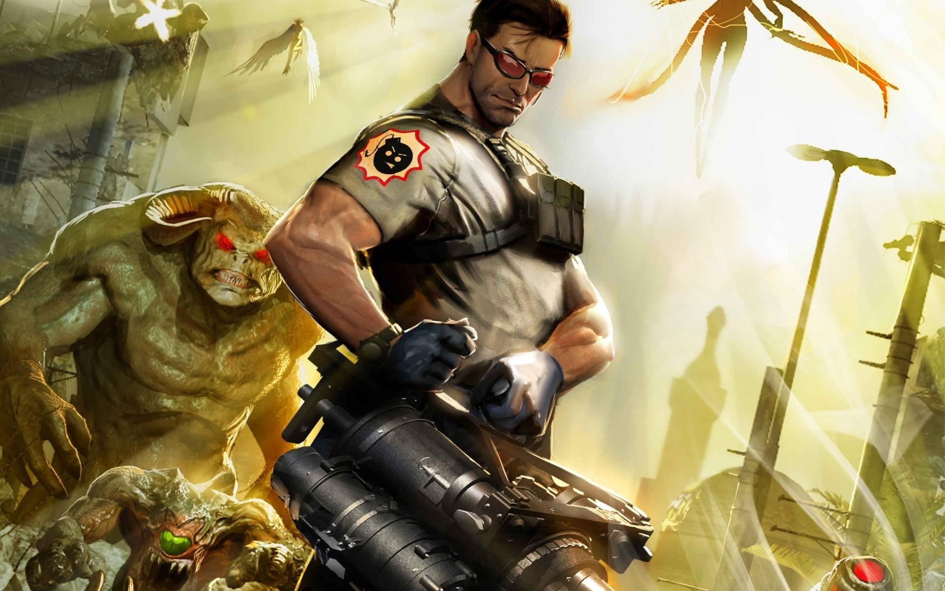 Арт к игре Serious Sam 3: BFE