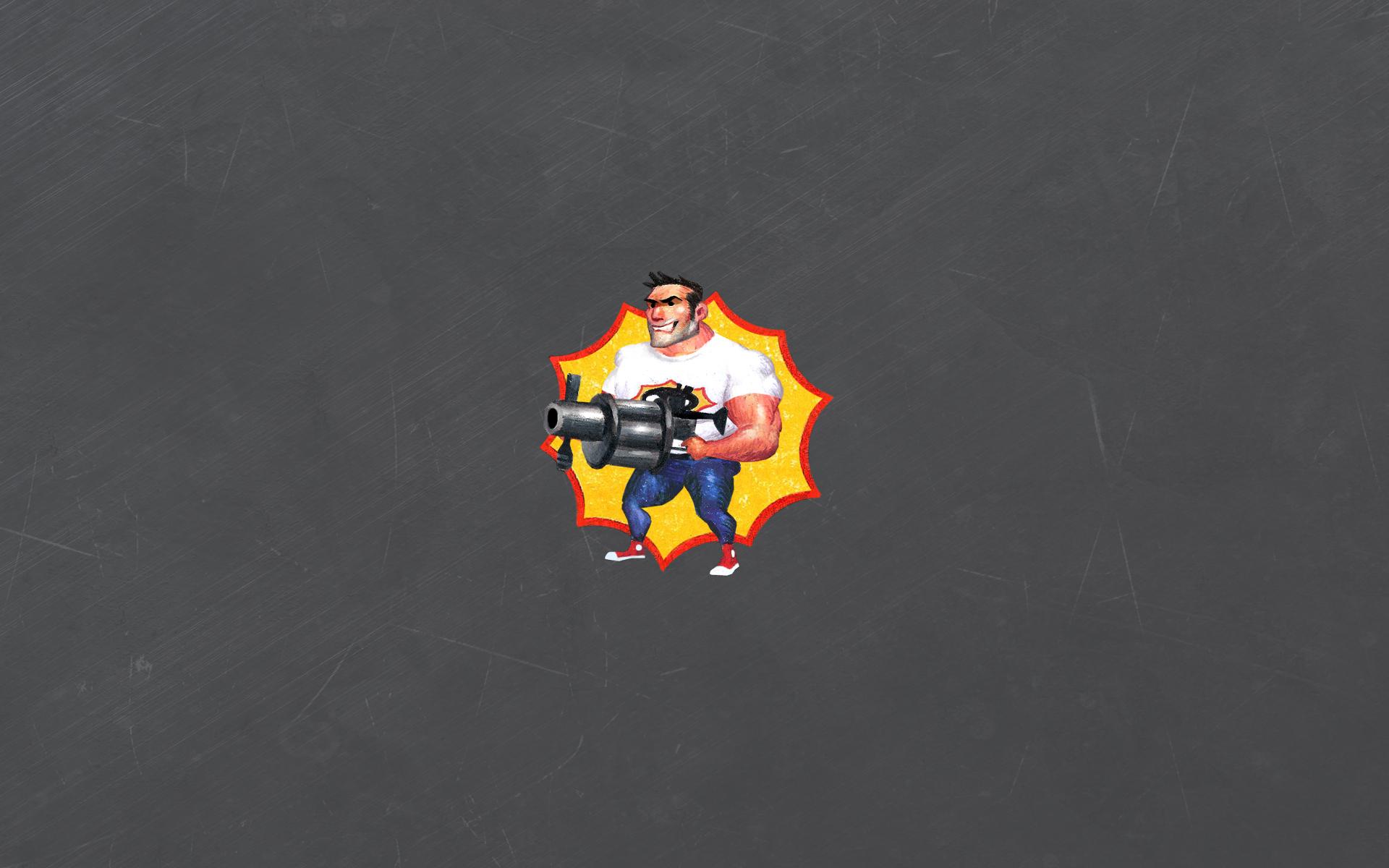 Арт к игре Serious Sam 2