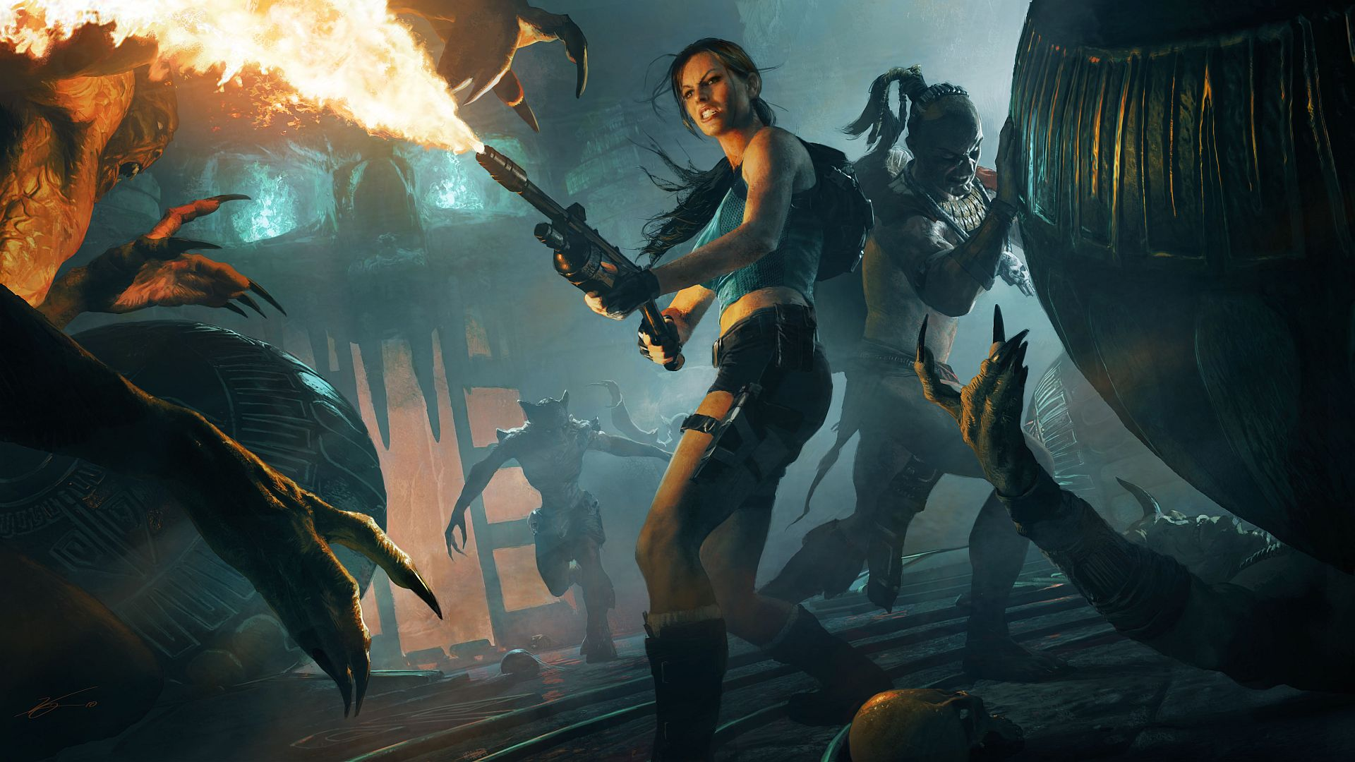 Арт к игре Lara Croft and the Guardian of Light