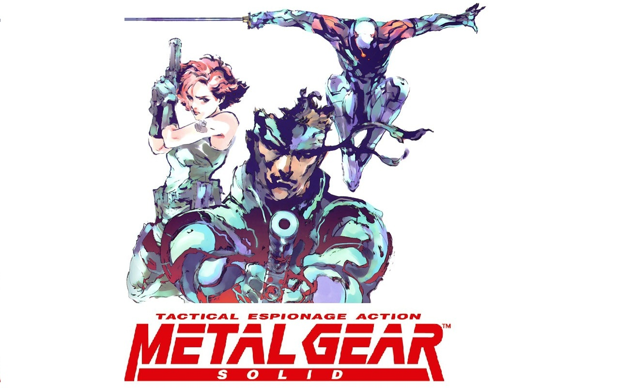 Арт к игре Metal Gear Solid