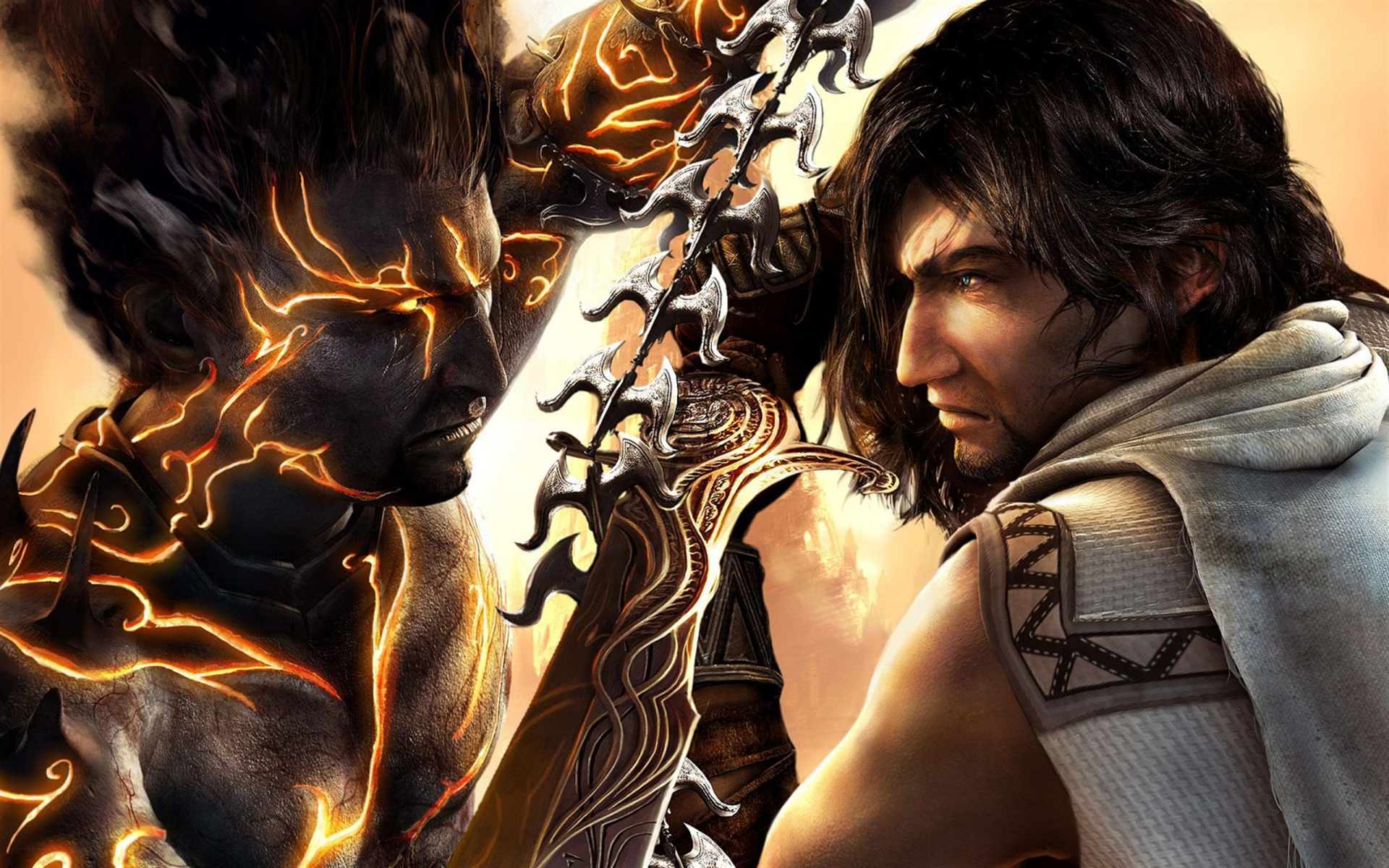 Арт к игре Prince of Persia: The Two Thrones