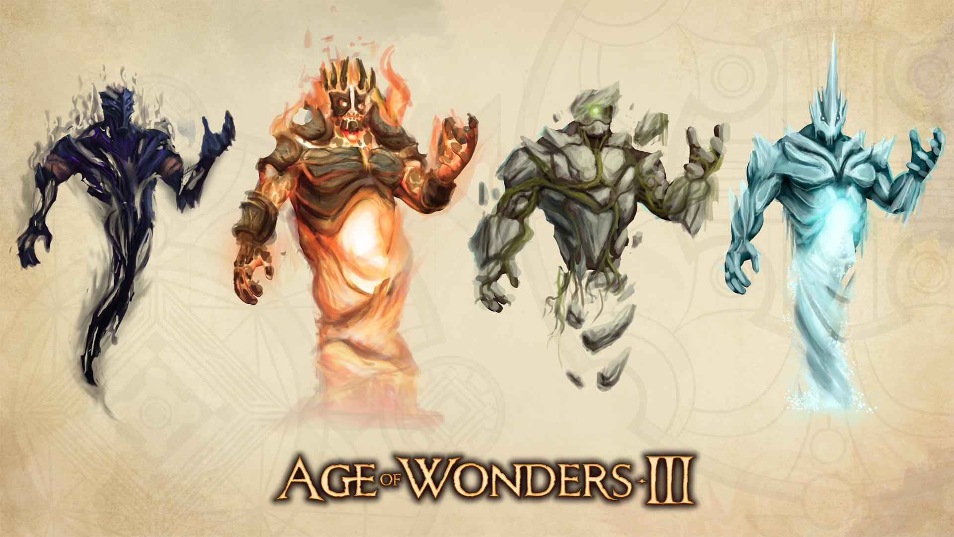 Арт к игре Age of Wonders III