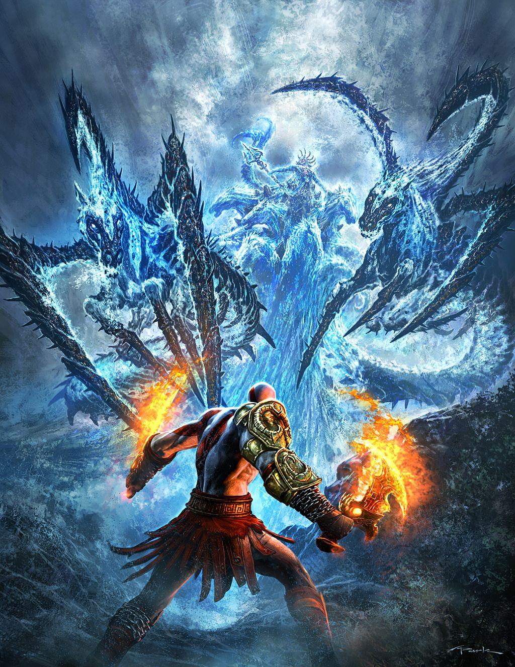 Арт к игре God of War III