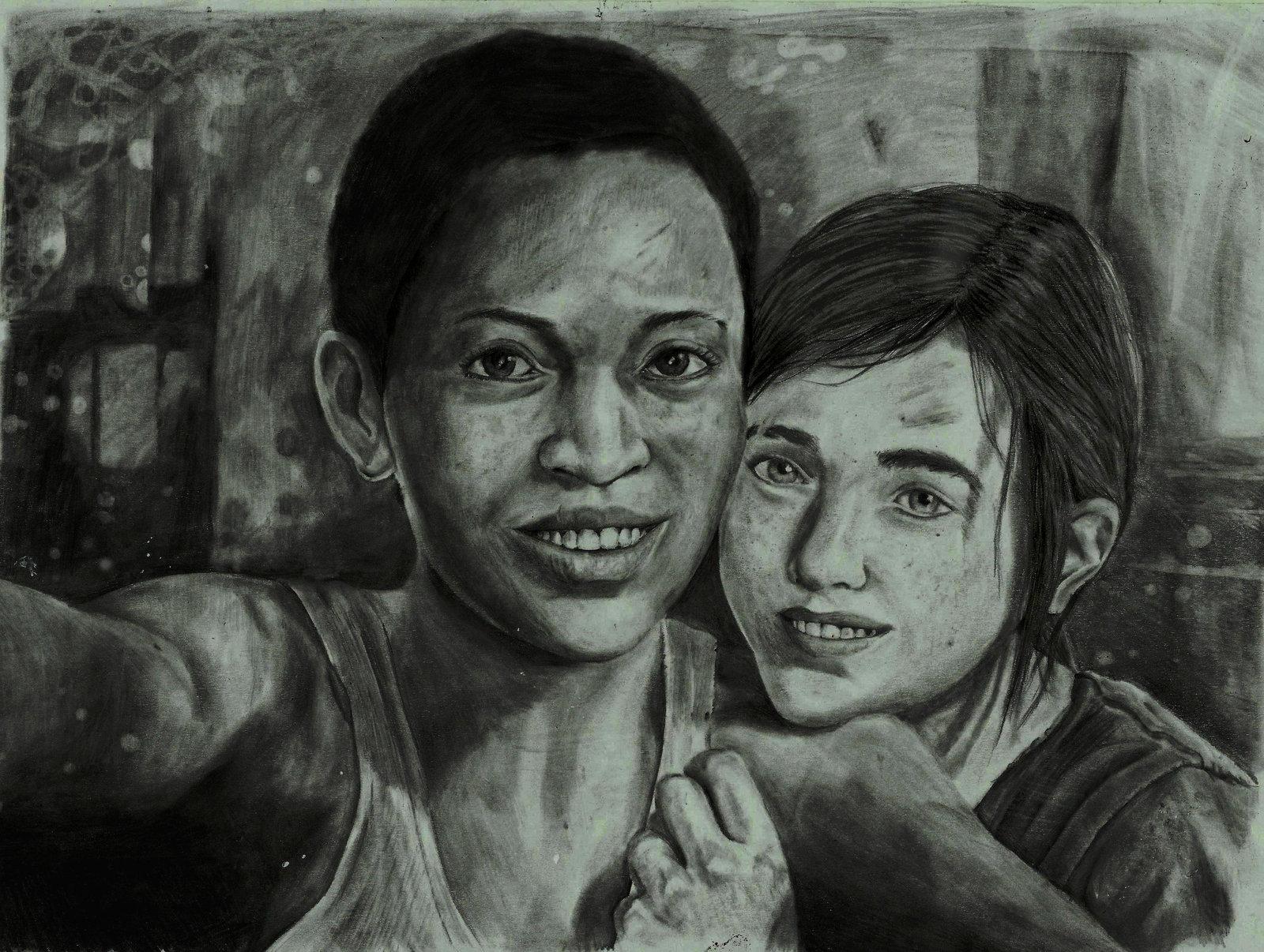 Арт к игре The Last of Us: Left Behind