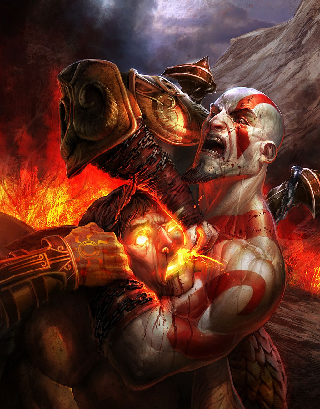 Арт к игре God of War III