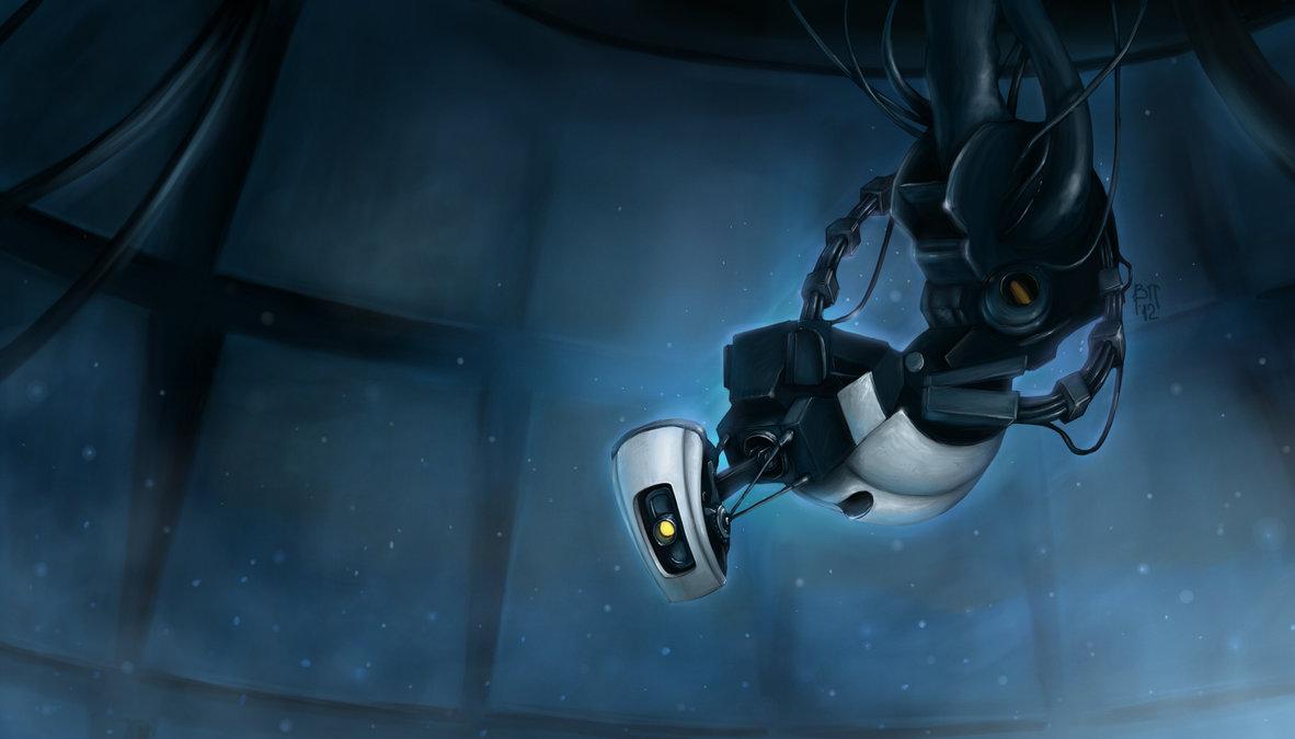 Арт к игре Portal 2