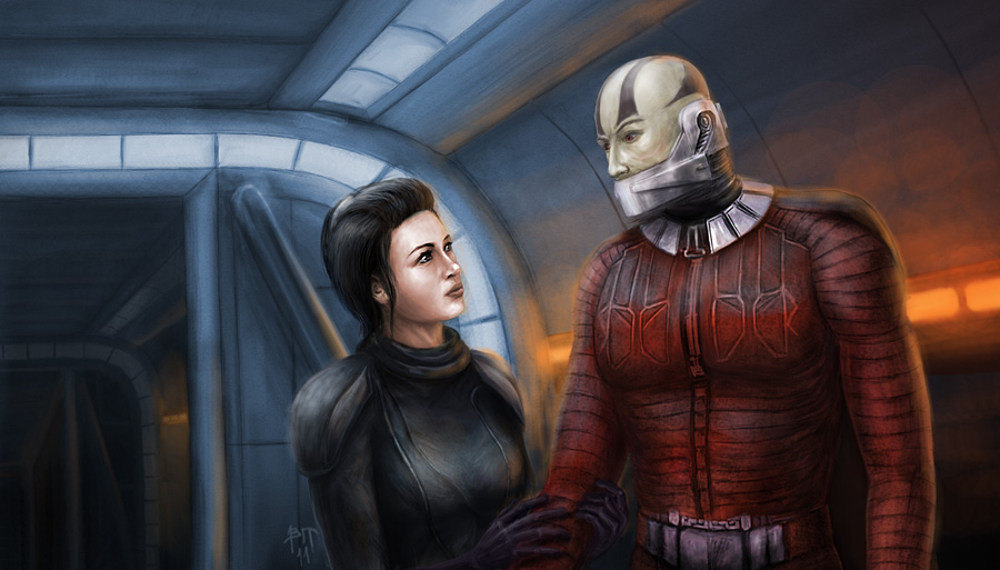 Арт к игре Star Wars: Knights of the Old Republic