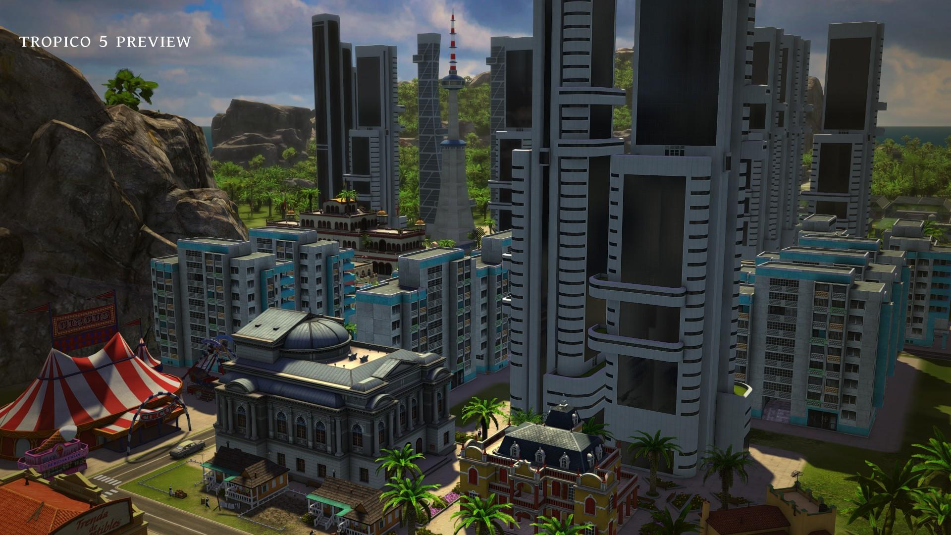 Арт к игре Tropico 5