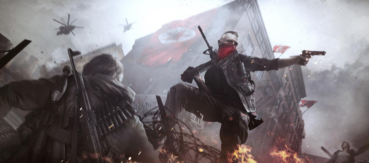 Арт к игре Homefront: The Revolution