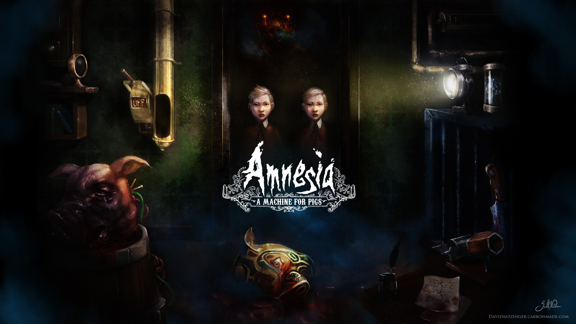 Арт к игре Amnesia: A Machine for Pigs