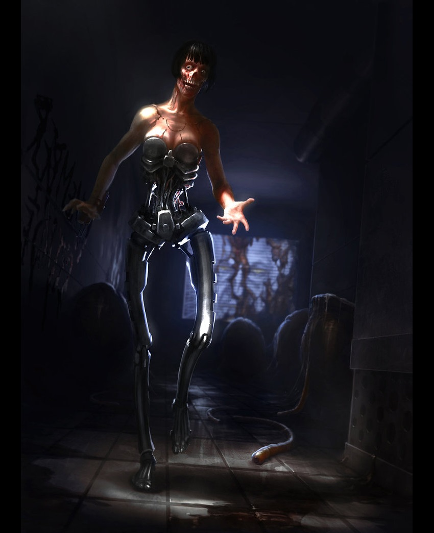 Арт к игре System Shock 2