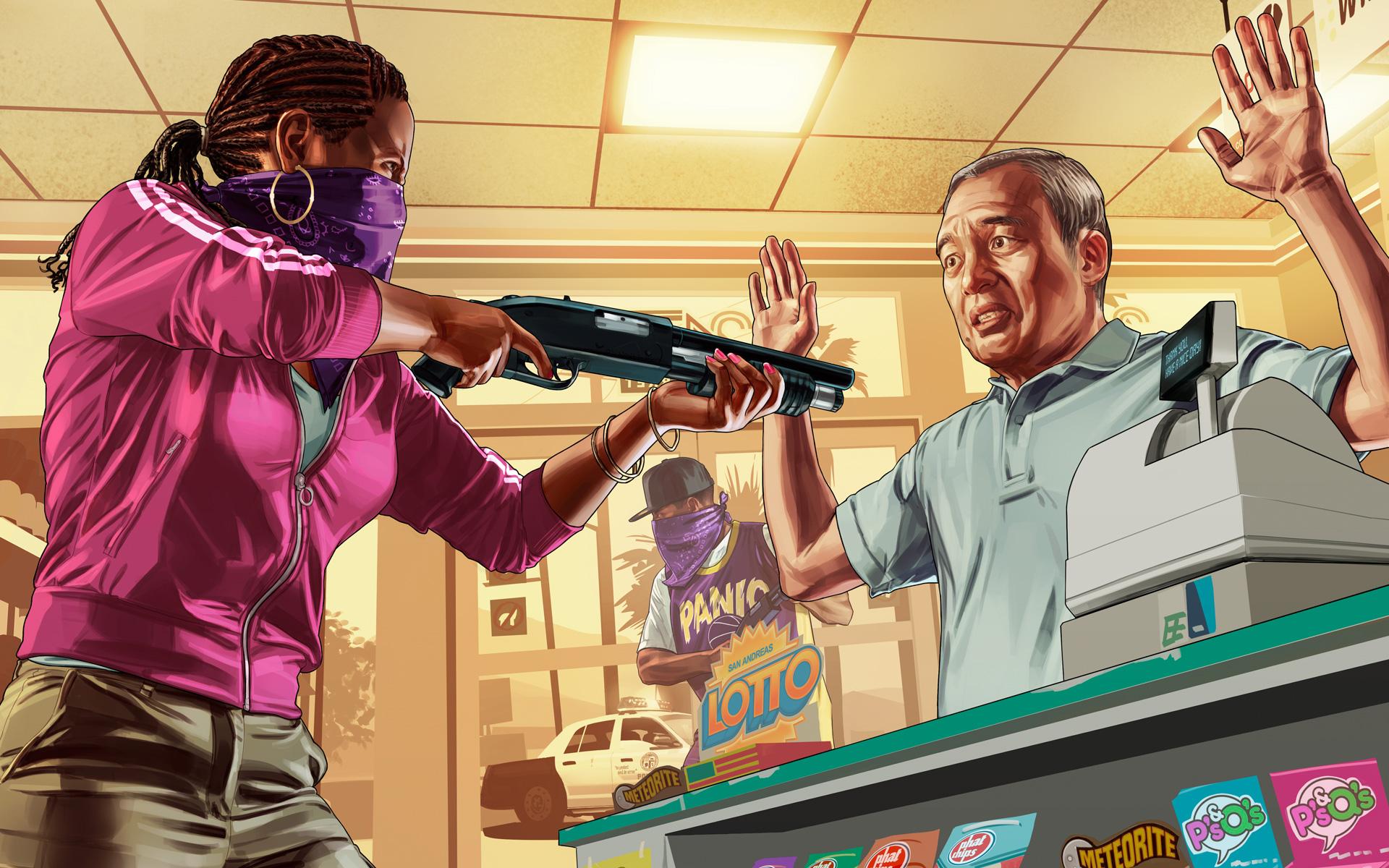 Арт к игре Grand Theft Auto V