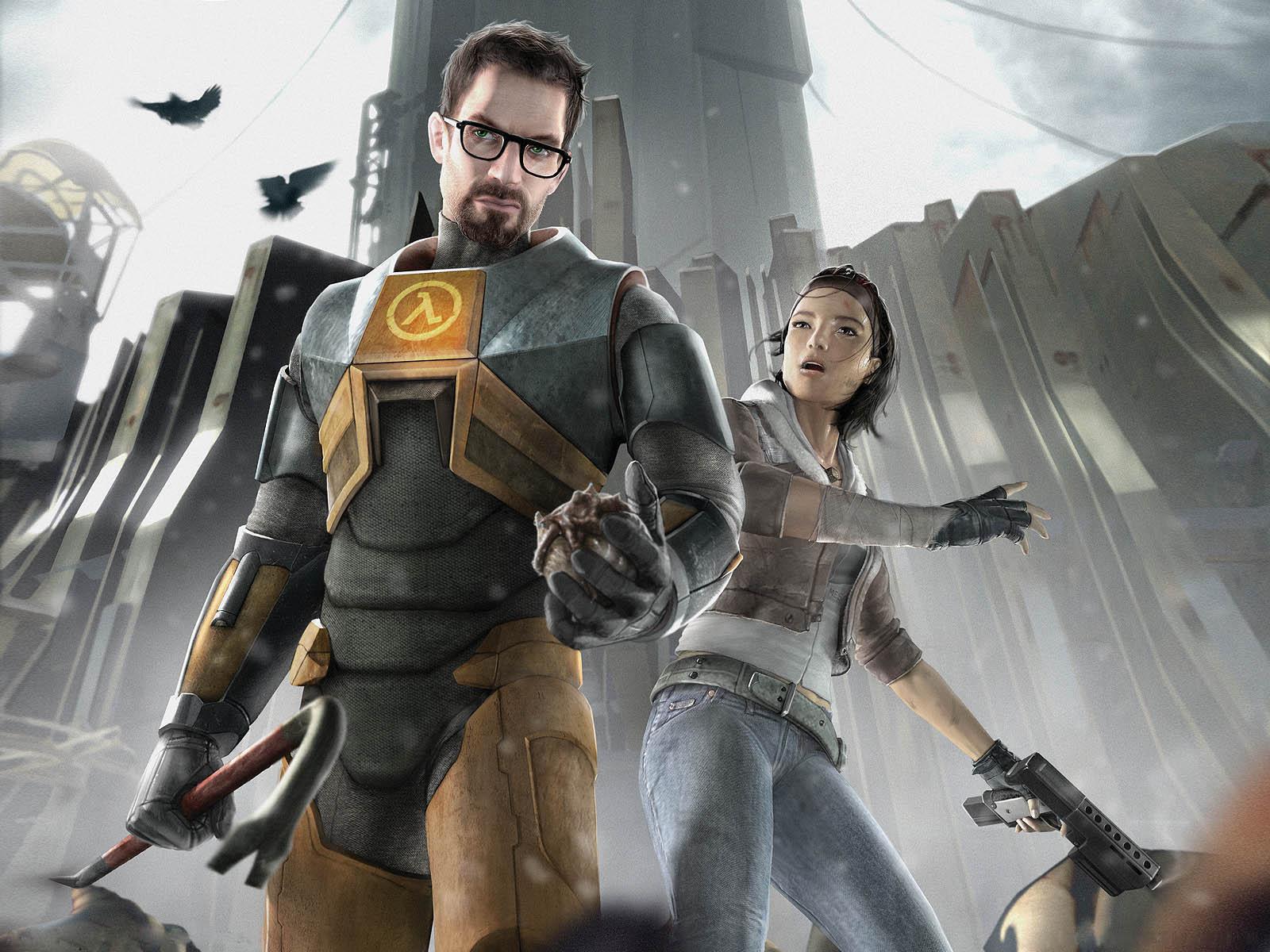Арт к игре Half-Life 2