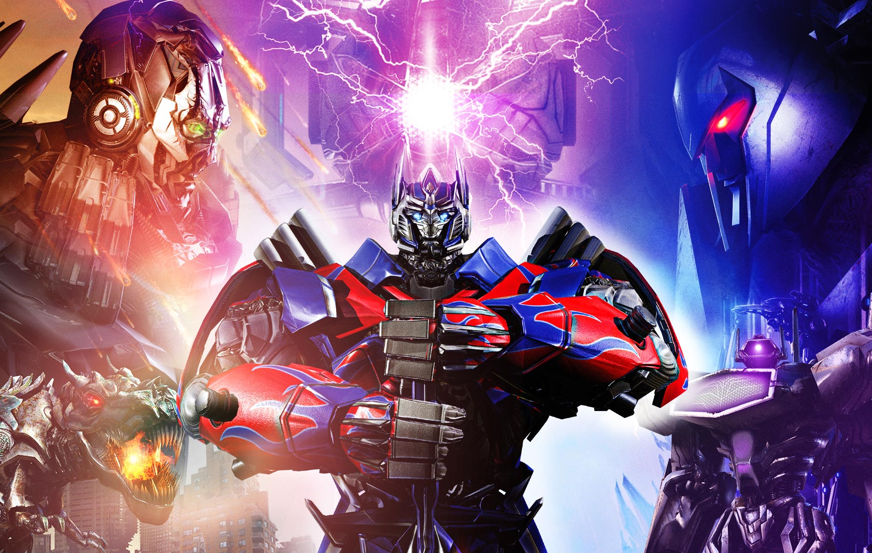 Арт к игре Transformers: Rise of the Dark Spark