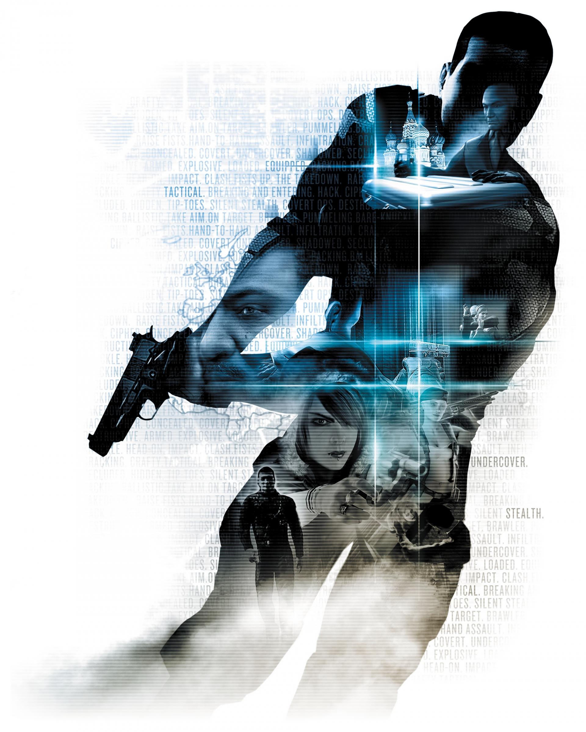 Арт к игре Alpha Protocol