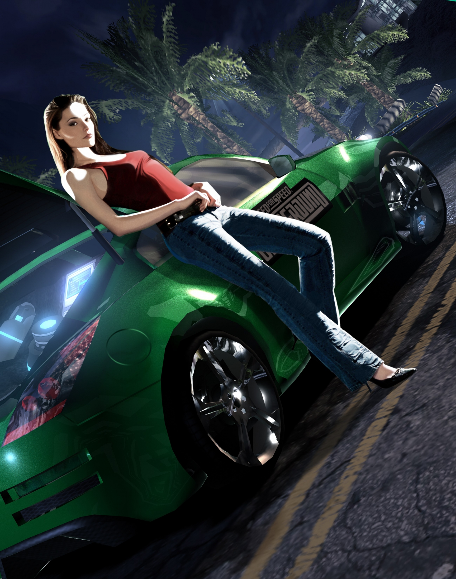 Арт к игре Need For Speed: Underground 2