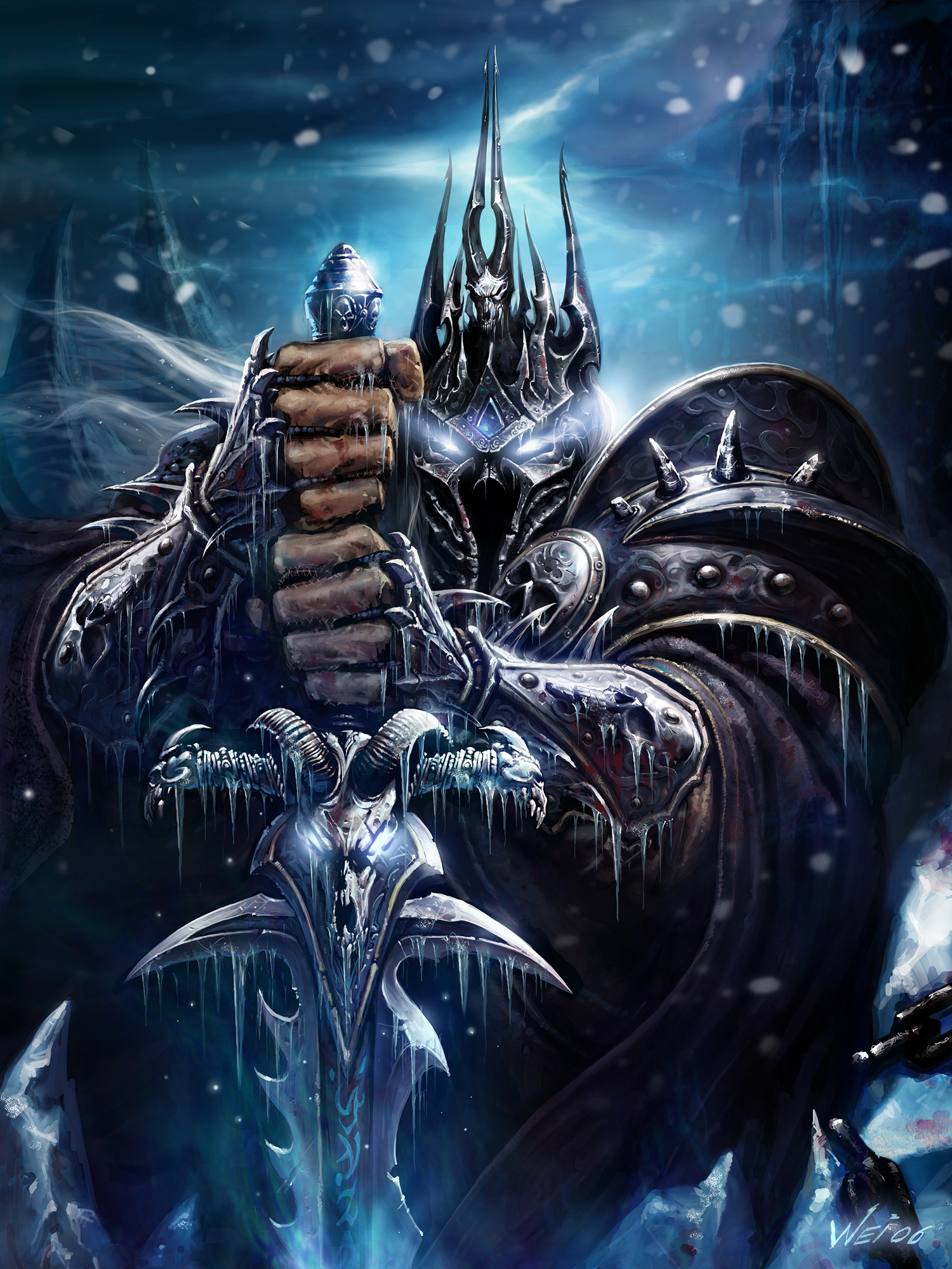 Арт к игре World of Warcraft: Wrath of the Lich King