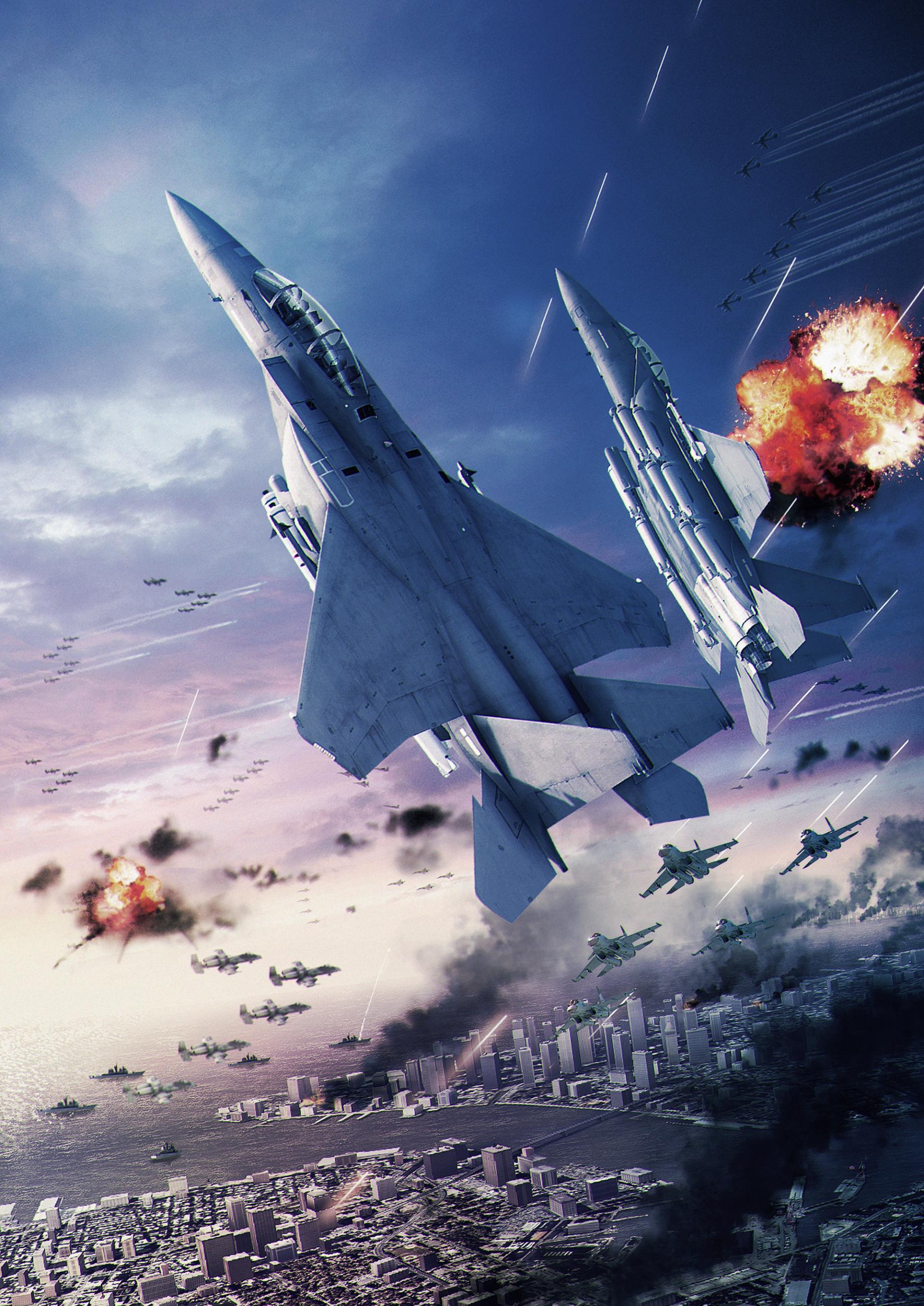 Арт к игре Ace Combat 6: Fires of Liberation