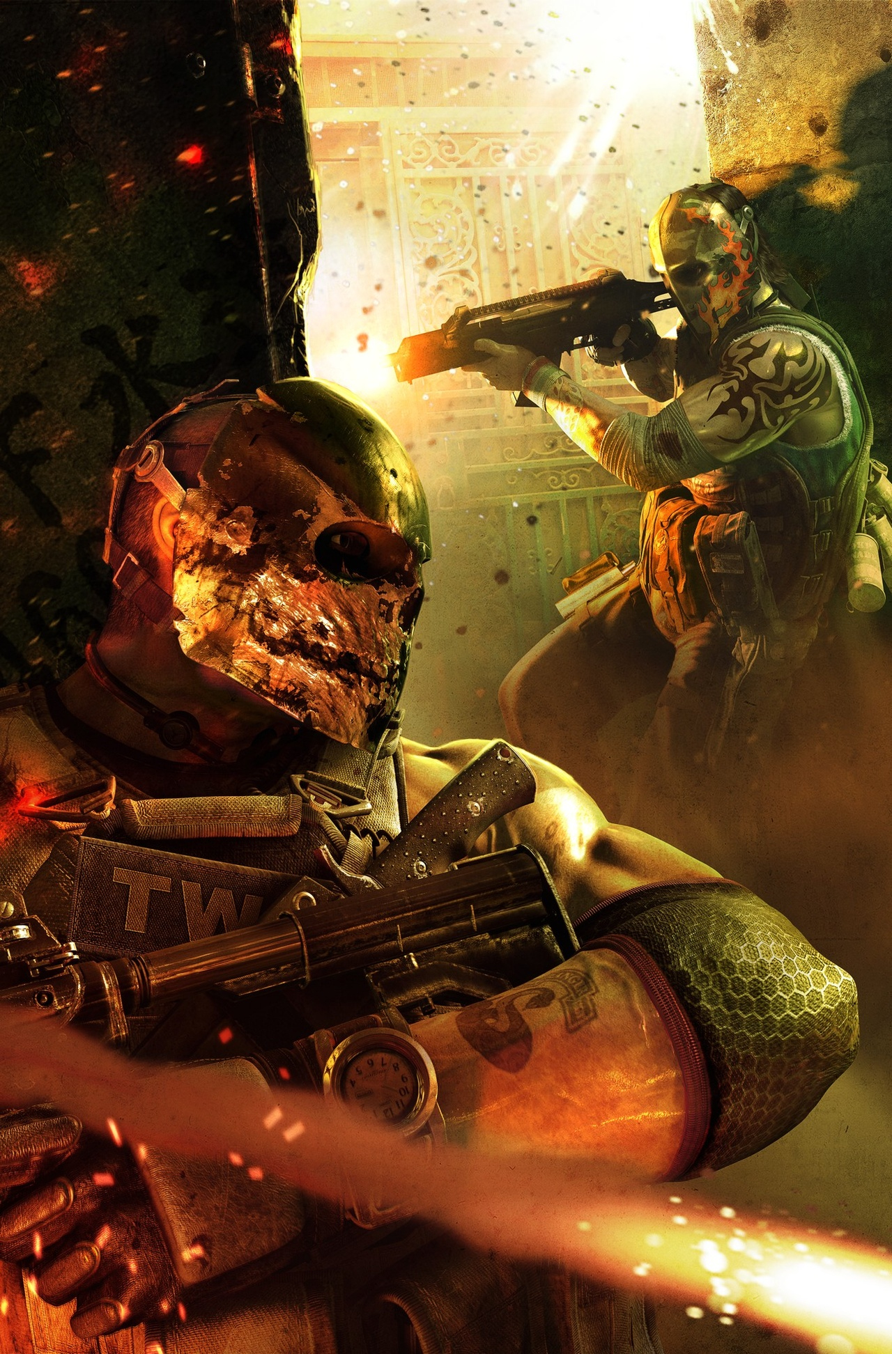 Арт к игре Army Of Two: The 40th Day