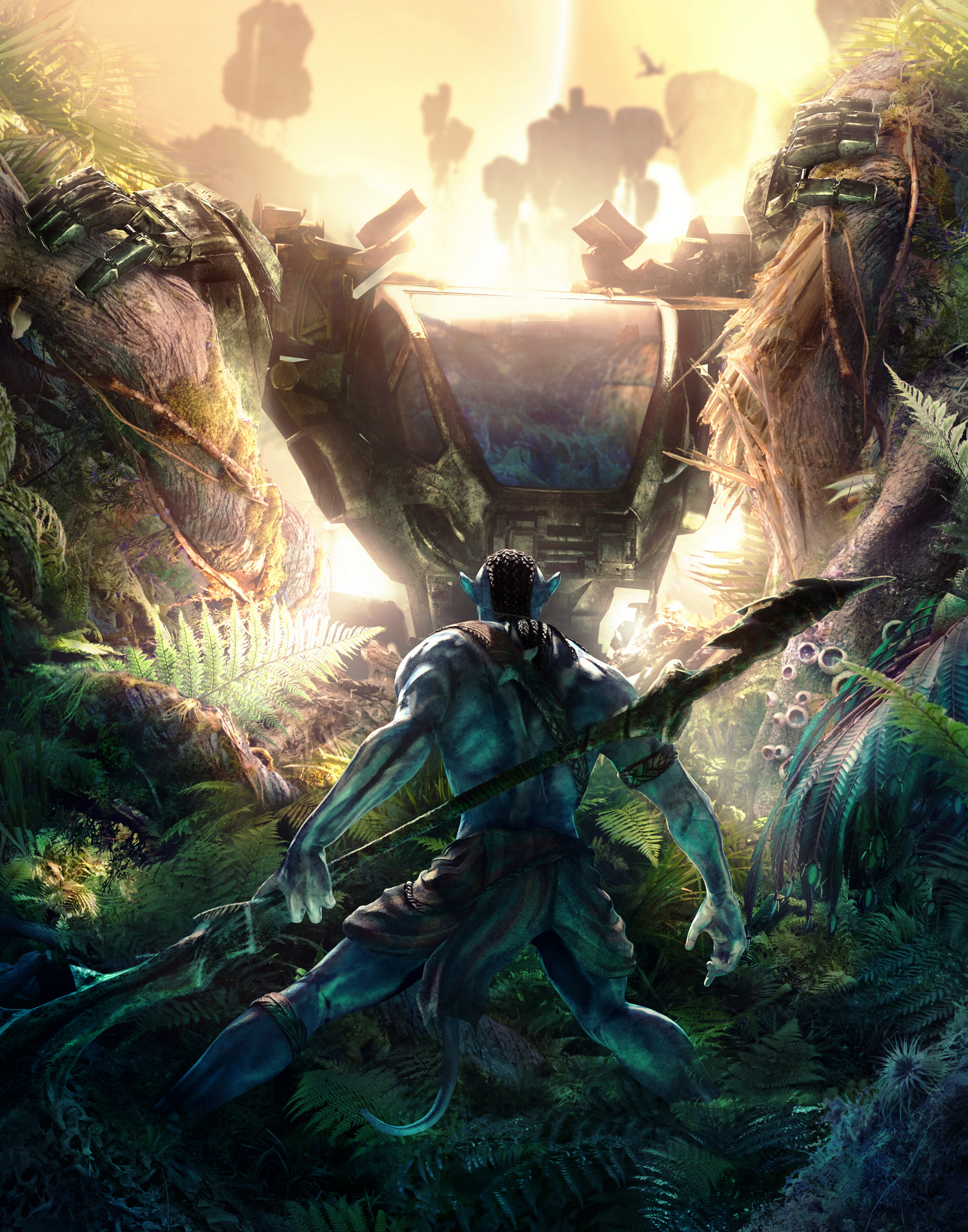 Арт к игре James Cameron's Avatar: The Game