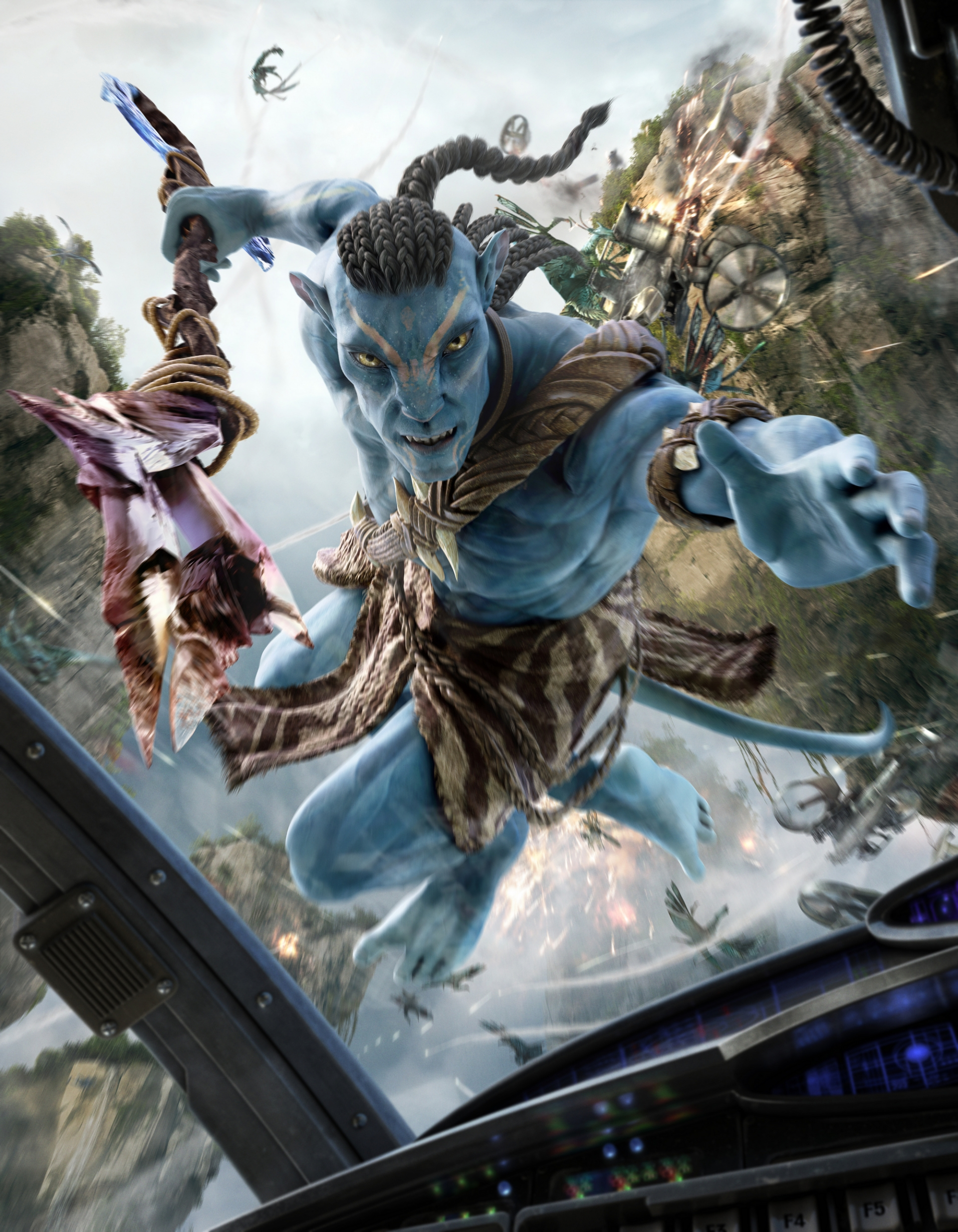 Арт к игре James Cameron's Avatar: The Game