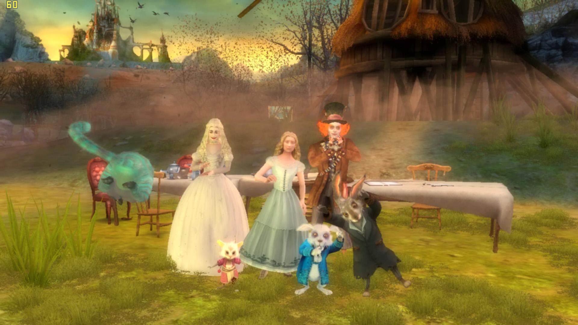 Арт к игре Disney Alice in Wonderland