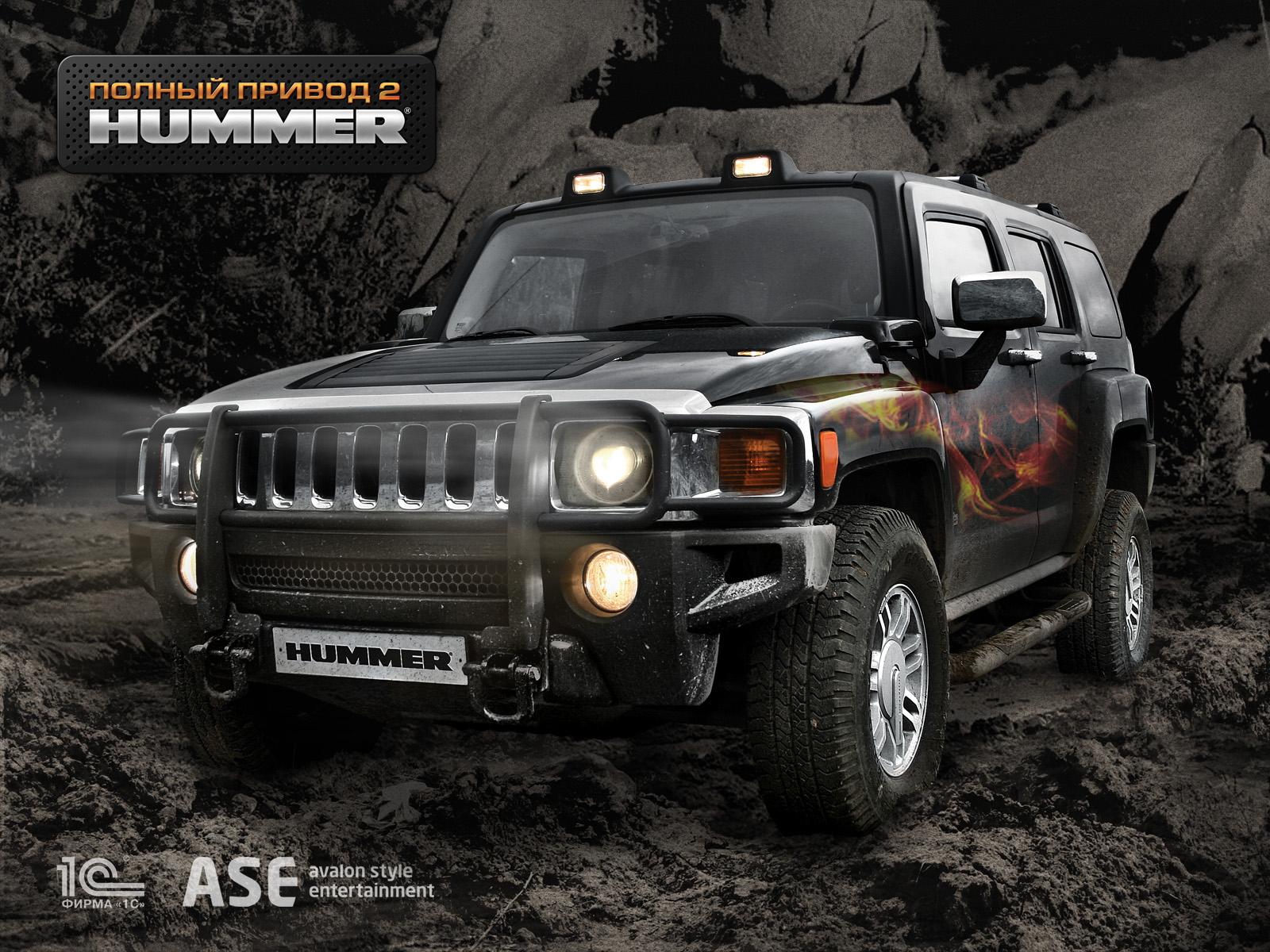 Арт к игре Full Drive 4x4 part 2: Hummer