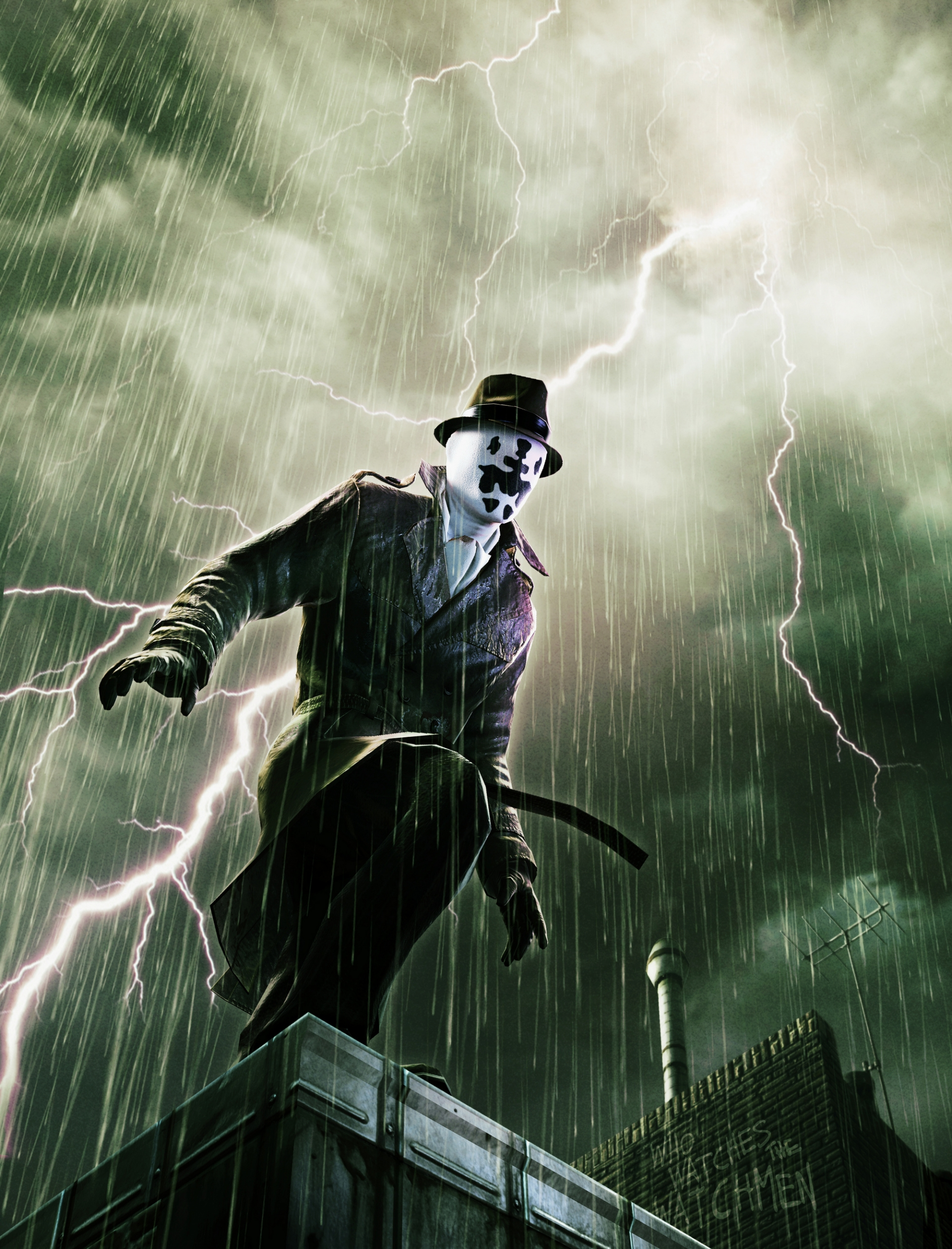 Арт к игре Watchmen: The End Is Nigh Part 1