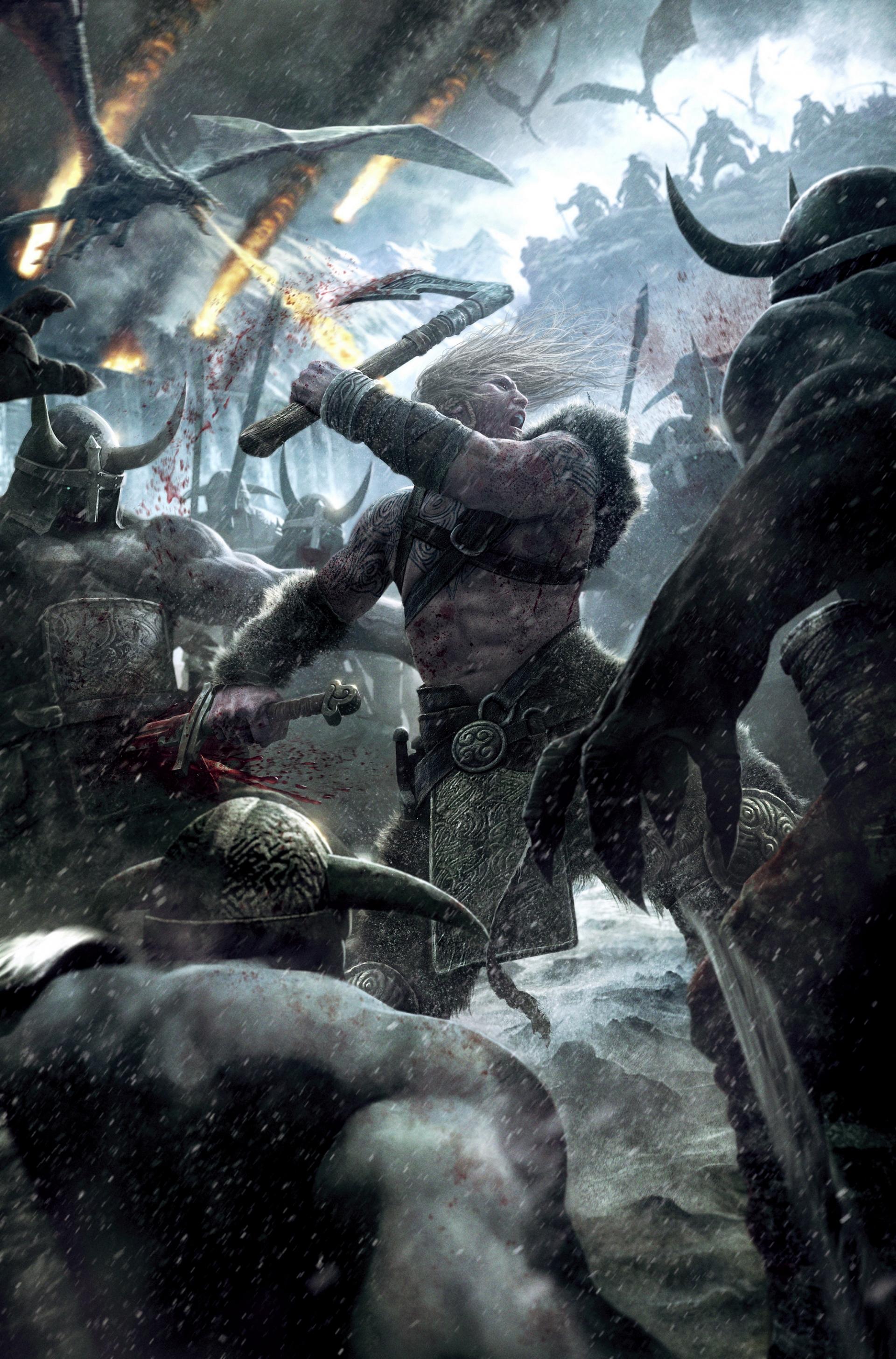 Арт к игре Viking: Battle for Asgard
